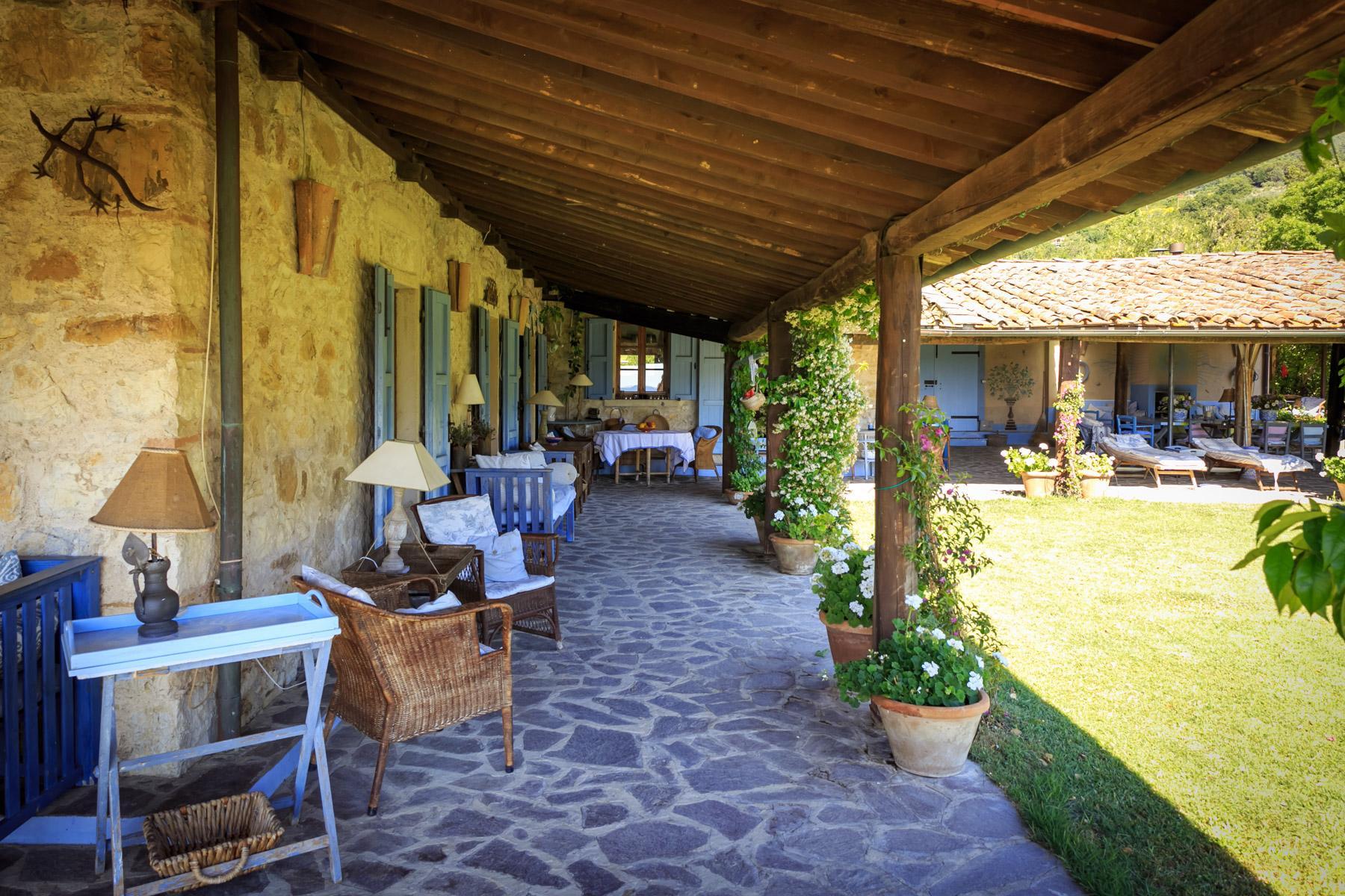 Belle villa toscane avec piscine - 11