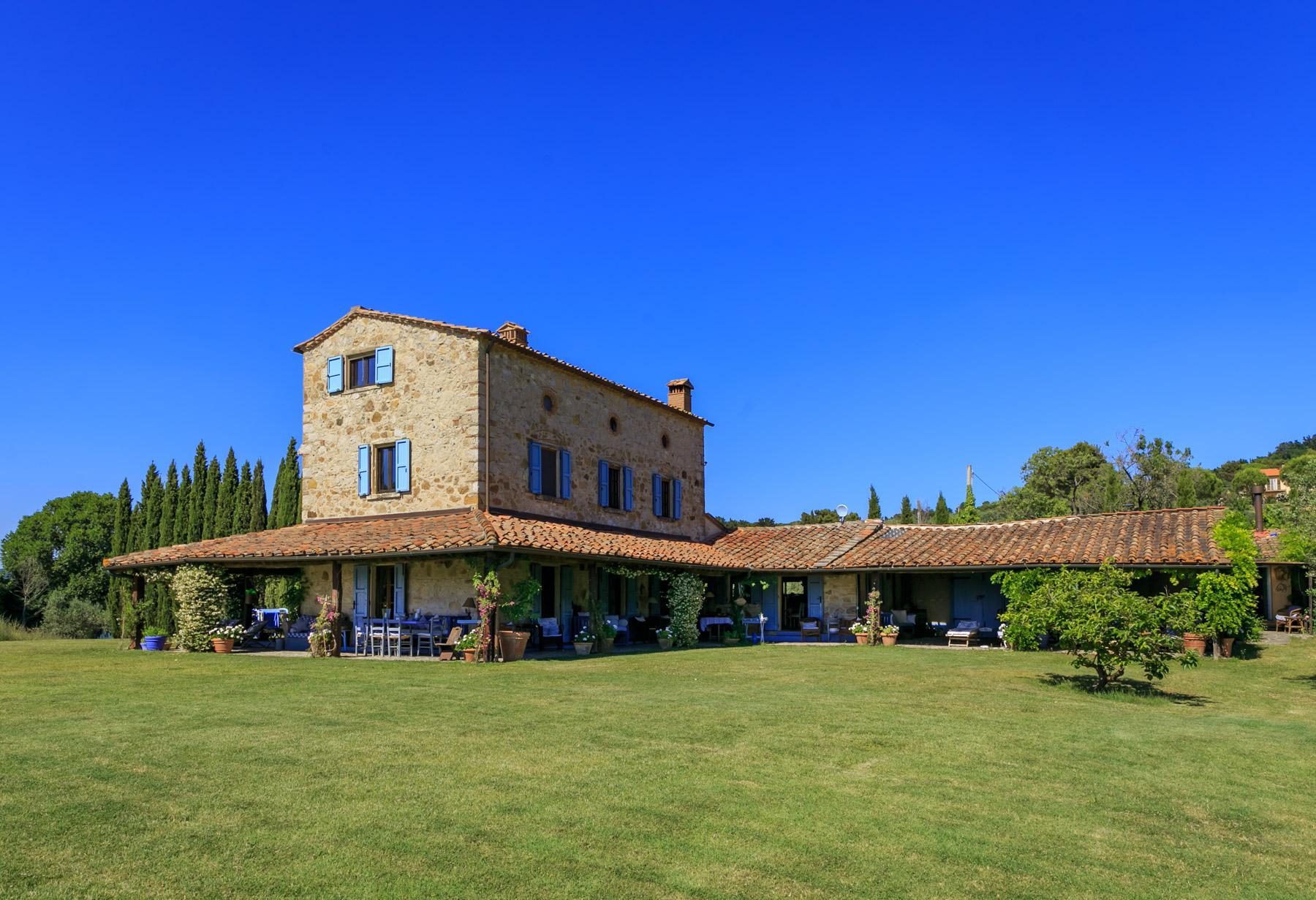 Belle villa toscane avec piscine - 5