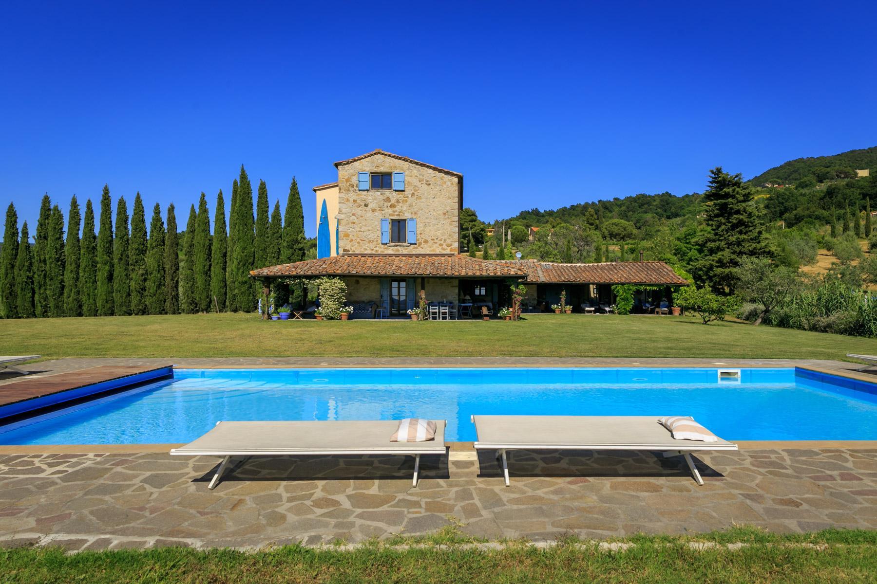 Wunderschöne toskanische Villa mit Pool - 2