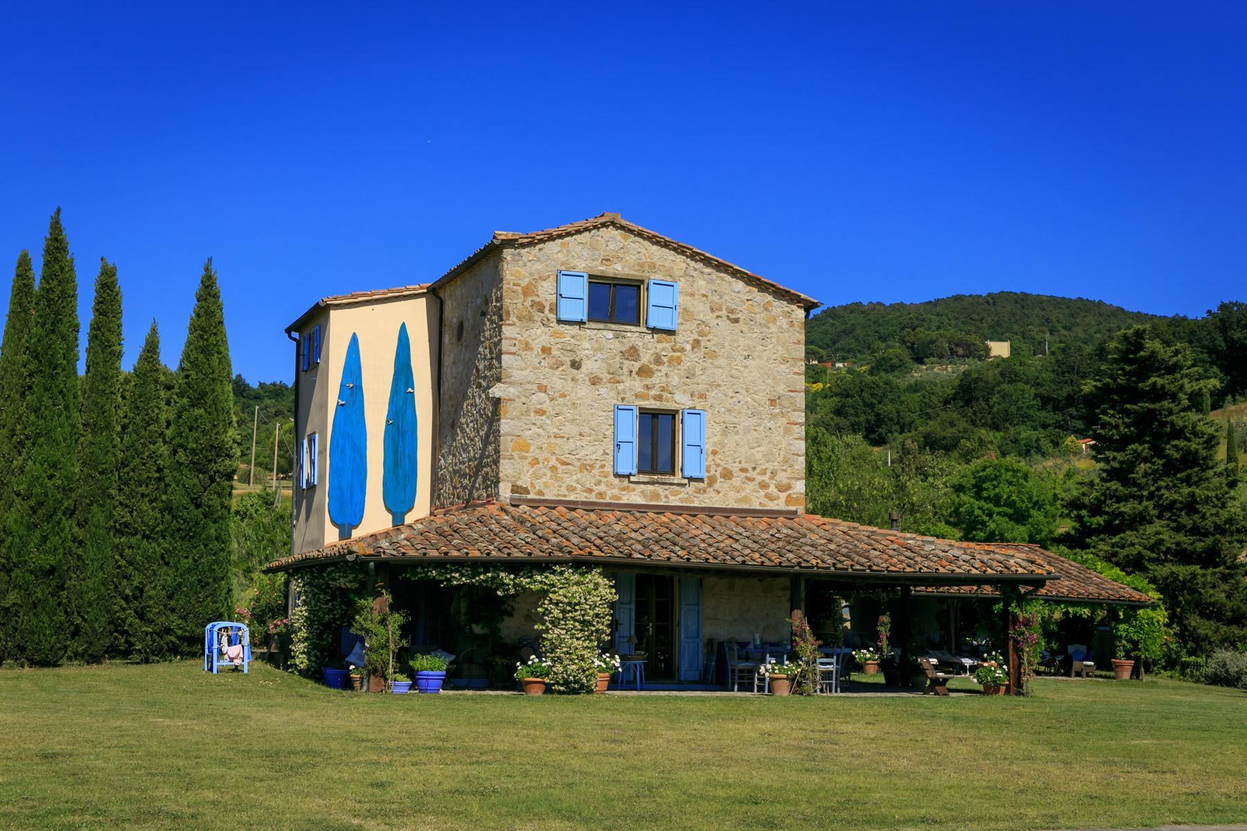 Belle villa toscane avec piscine - 3