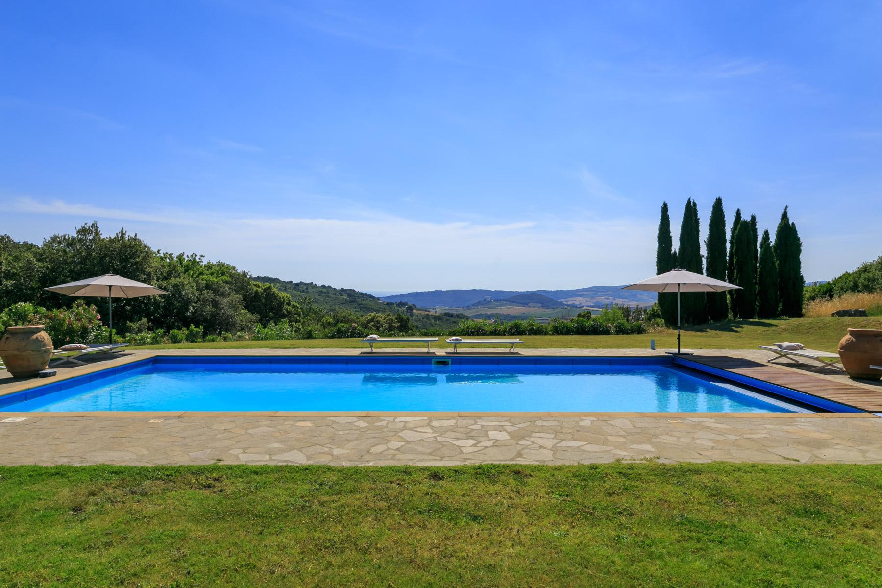 Wunderschöne toskanische Villa mit Pool - 6