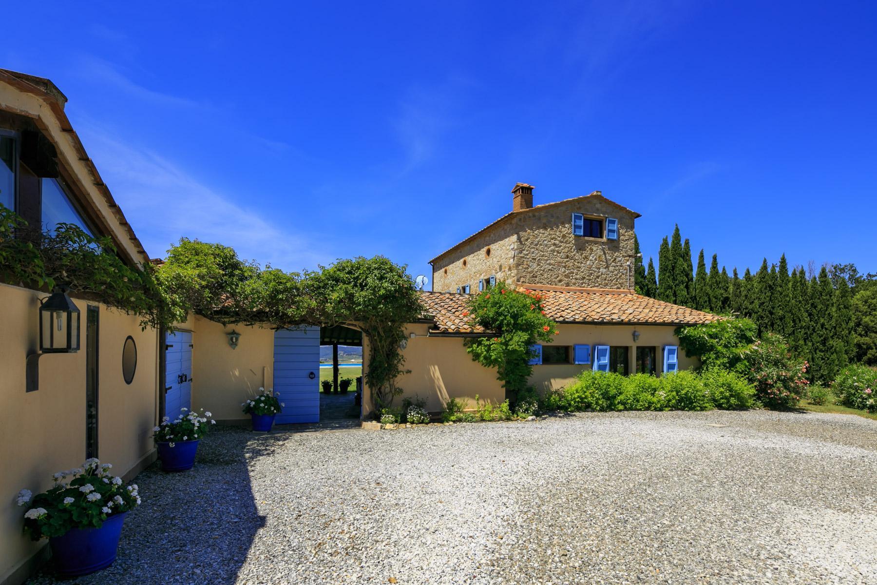Wunderschöne toskanische Villa mit Pool - 26