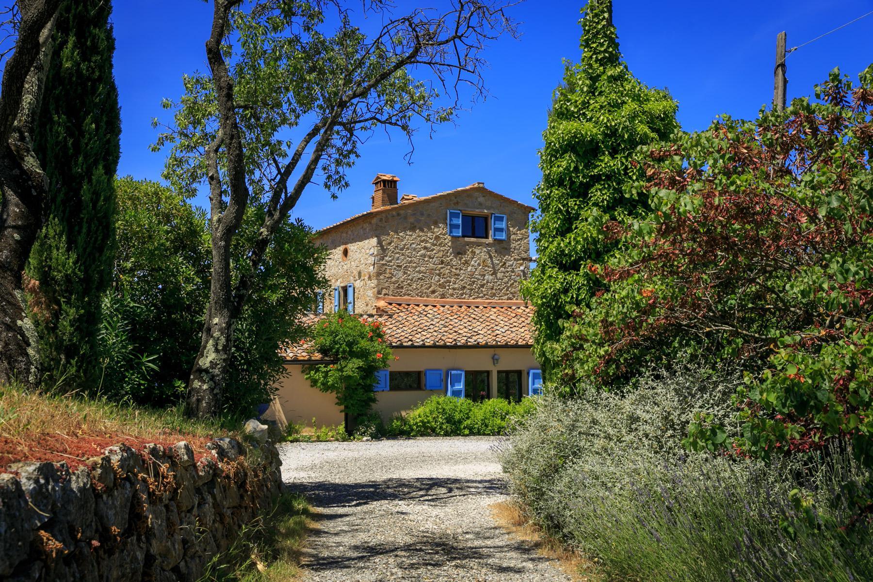Wunderschöne toskanische Villa mit Pool - 28