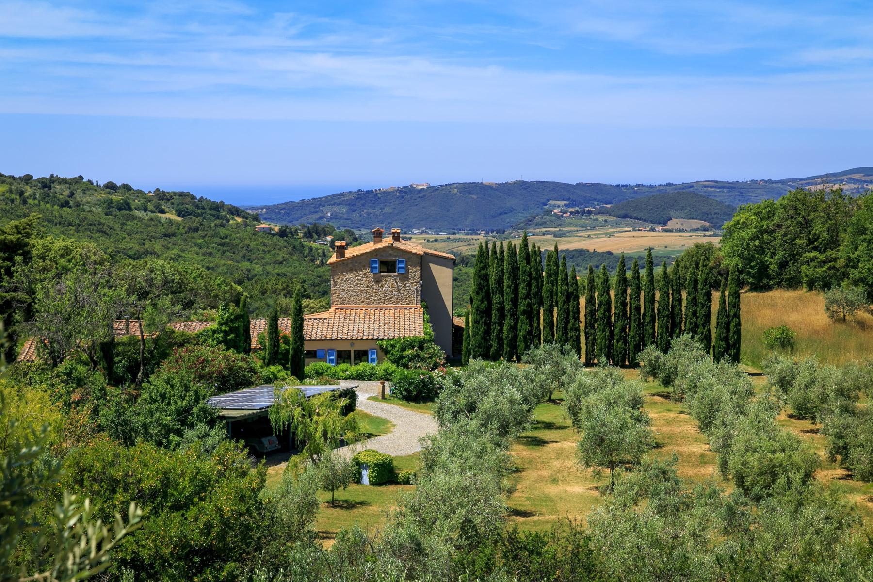 Wunderschöne toskanische Villa mit Pool - 29