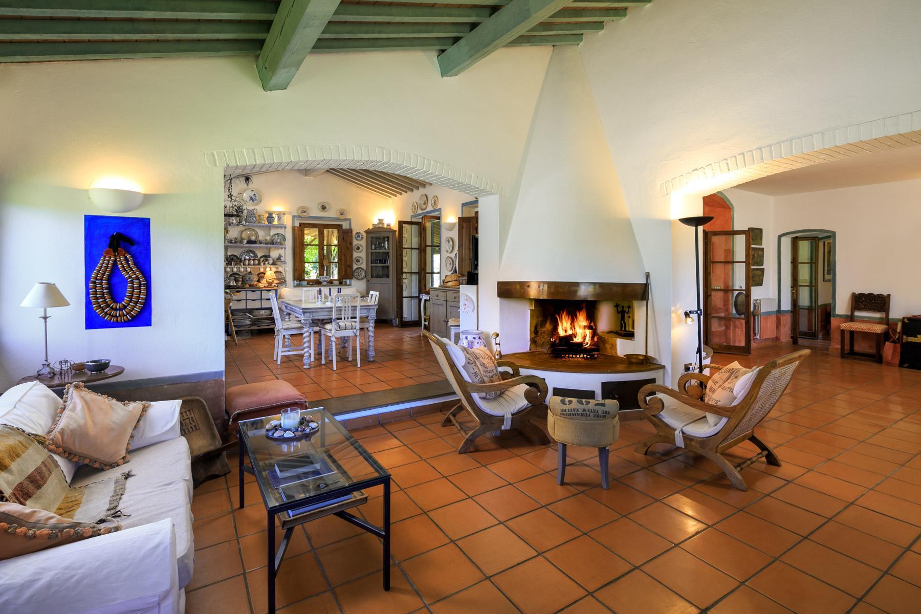 Wunderschöne toskanische Villa mit Pool - 13