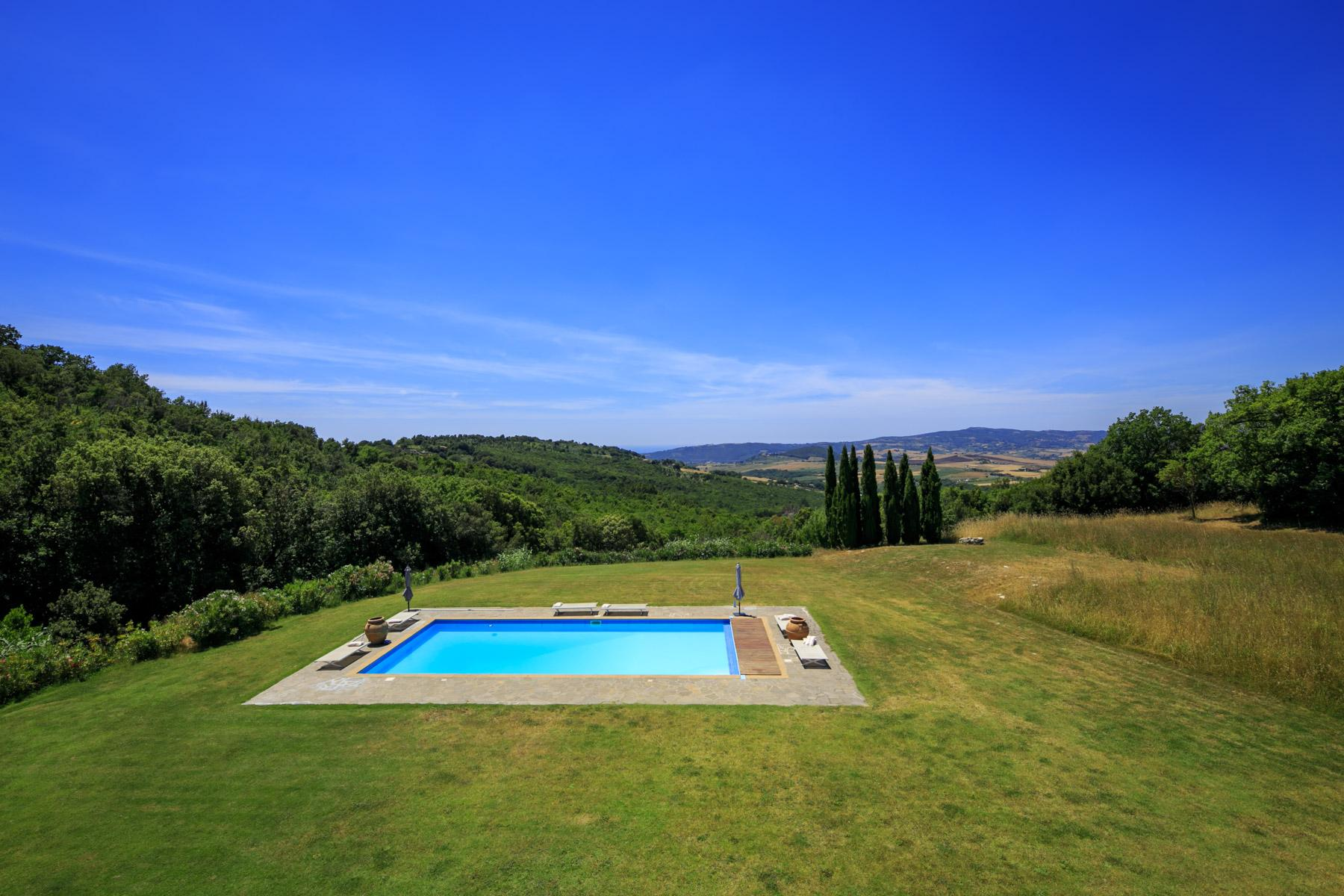 托斯卡纳地区拥有游泳池惬意的别墅 - 25