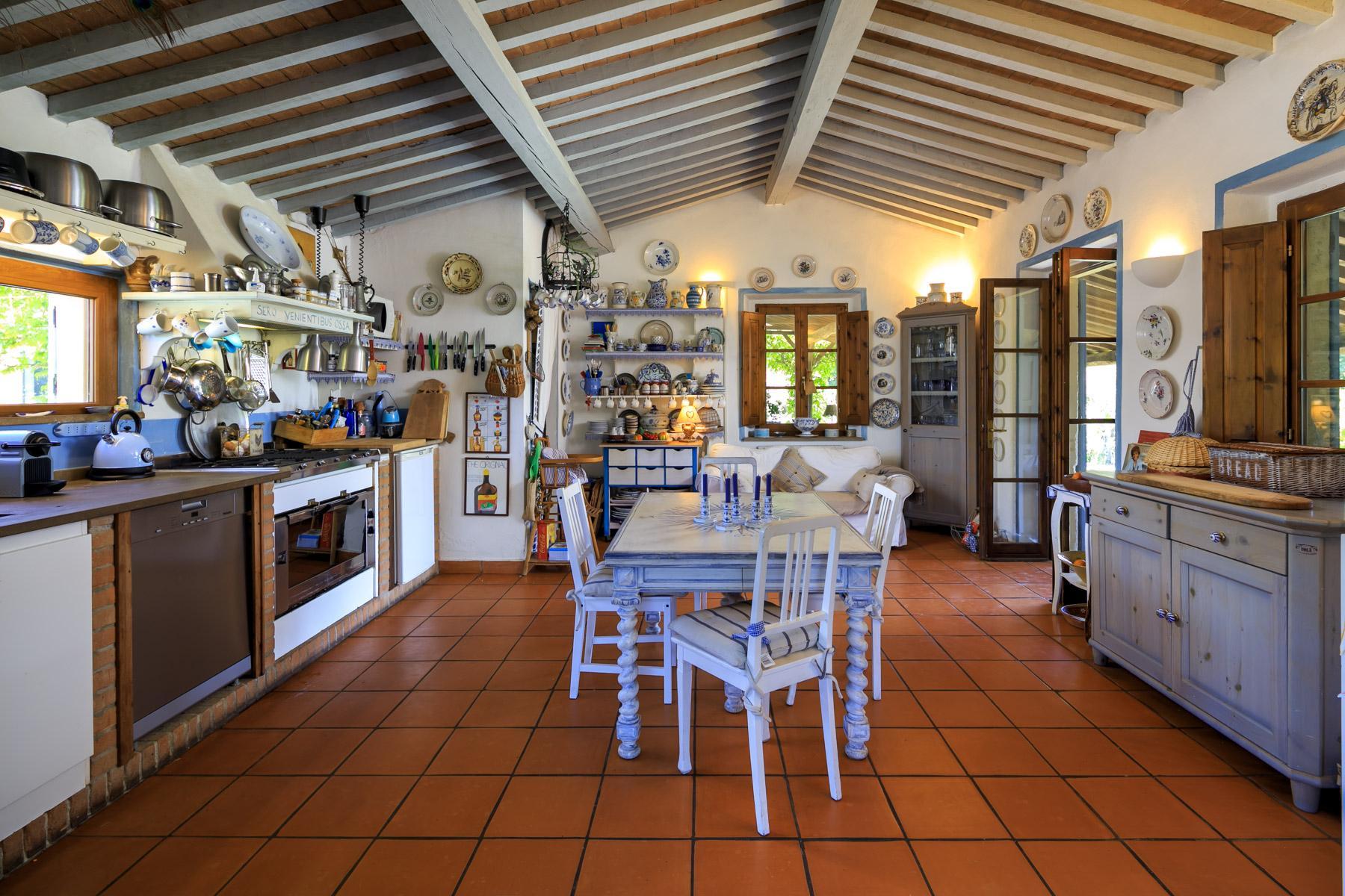 Belle villa toscane avec piscine - 14