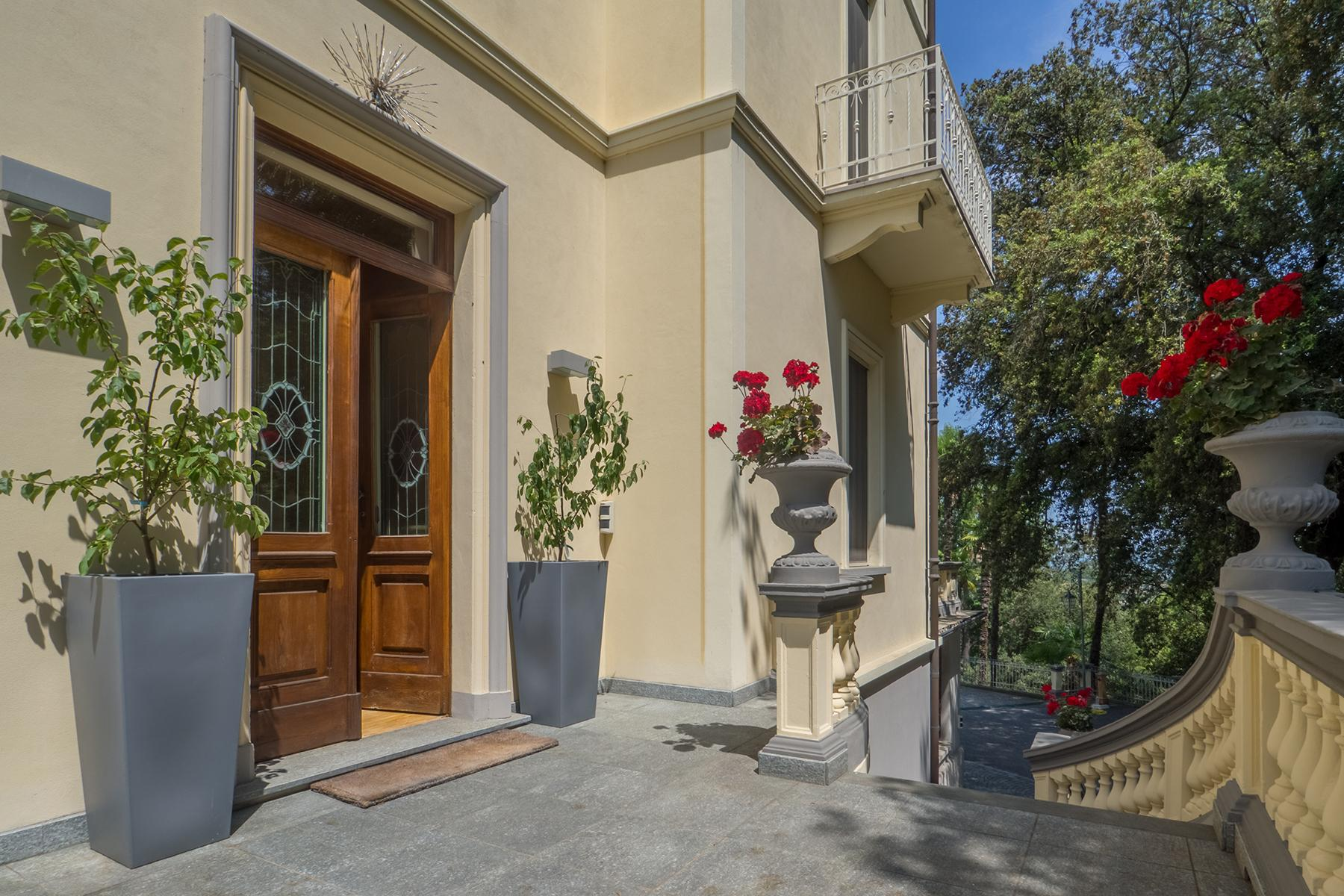 Величественная вилла в стиле Либерти, расположенная в одной из самых живописных деревень Италии - 22