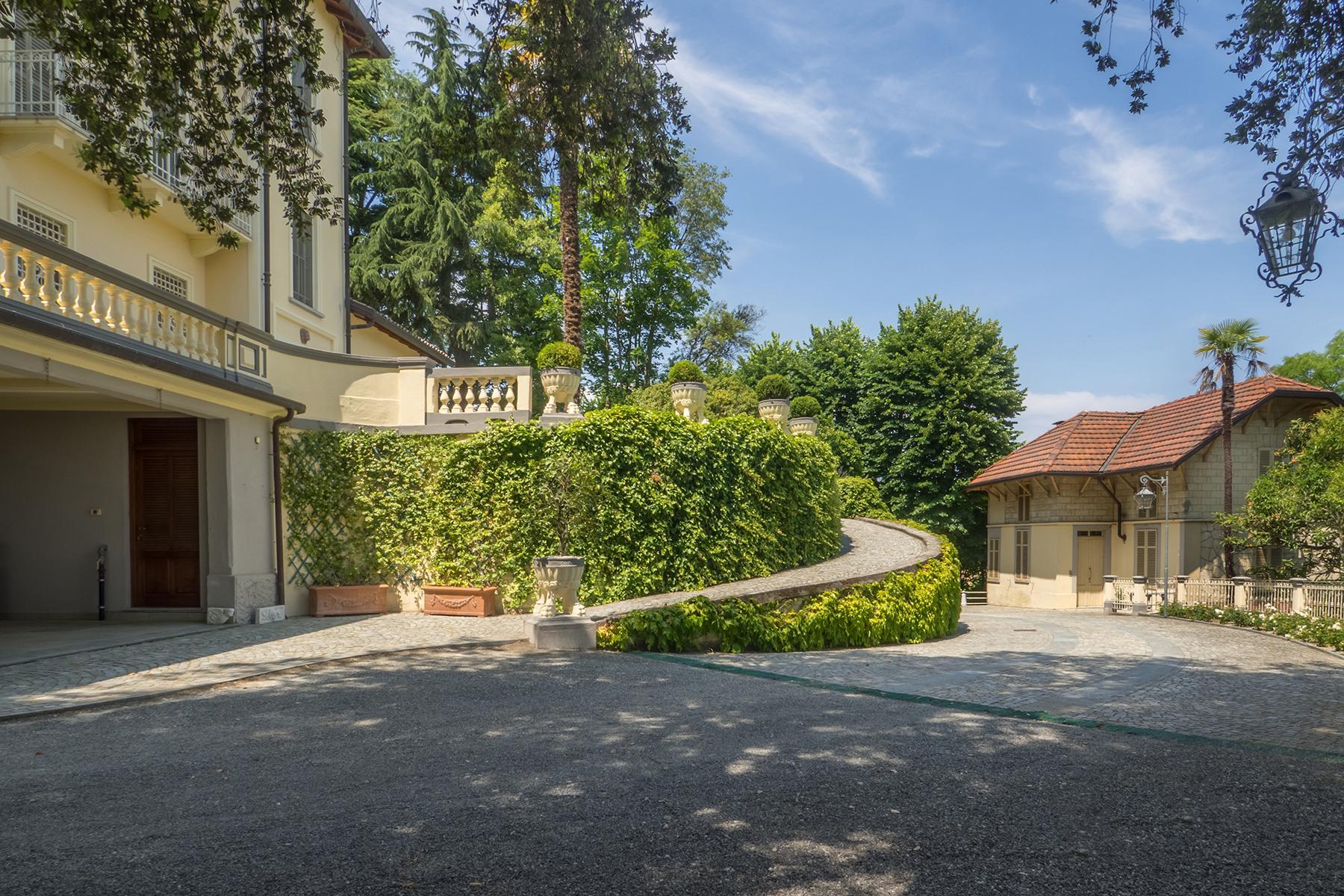 Величественная вилла в стиле Либерти, расположенная в одной из самых живописных деревень Италии - 23