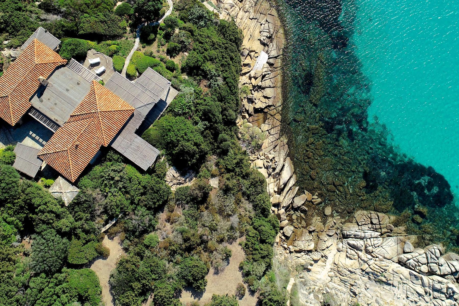 Incantevole villa con accesso diretto al mare all'Ile de Cavallo - 20