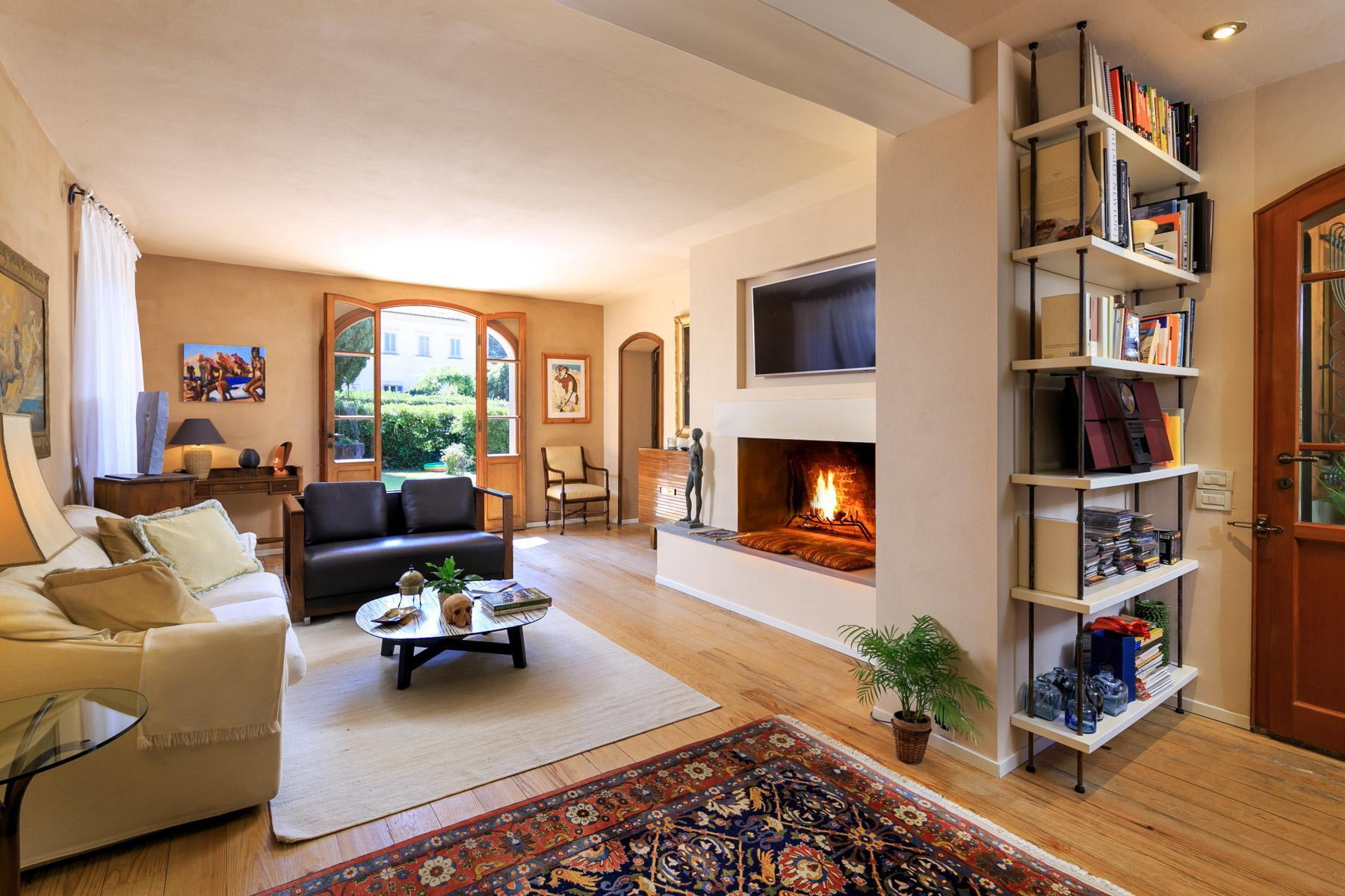 Elegante Villa mit Park und Olivenhainen auf dem Land Luccas - 6
