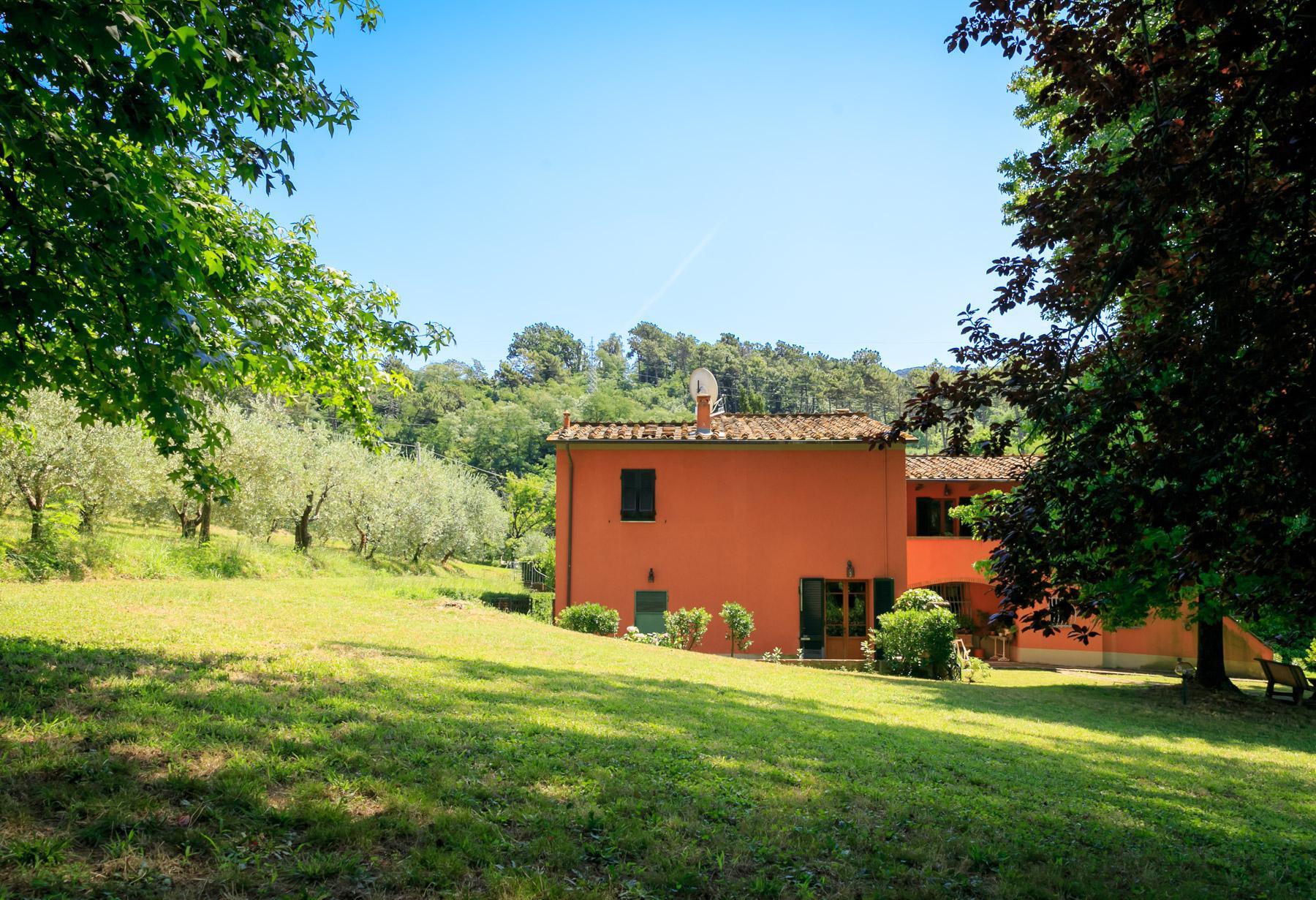 Elegante Villa mit Park und Olivenhainen auf dem Land Luccas - 13