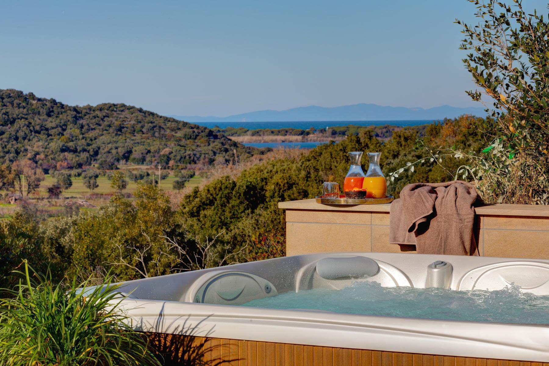 Magnifique villa avec vue imprenable sur le lagon d'Orbetello - 15