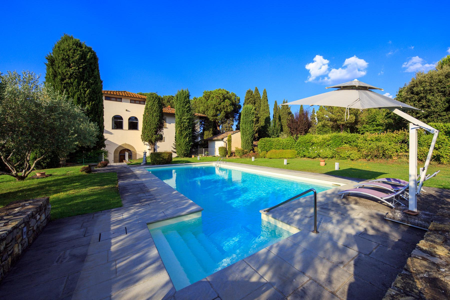 Historic Renaissance Villa with Private Hamlet on the Hills of Florence - 2