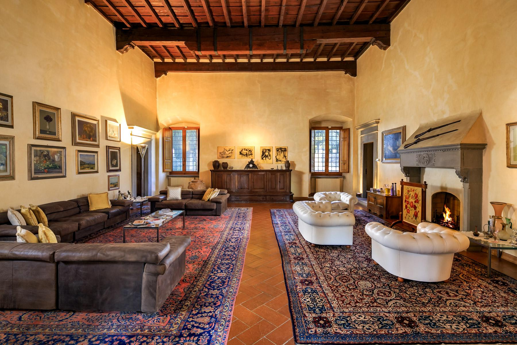 Historic Renaissance Villa with Private Hamlet on the Hills of Florence - 14