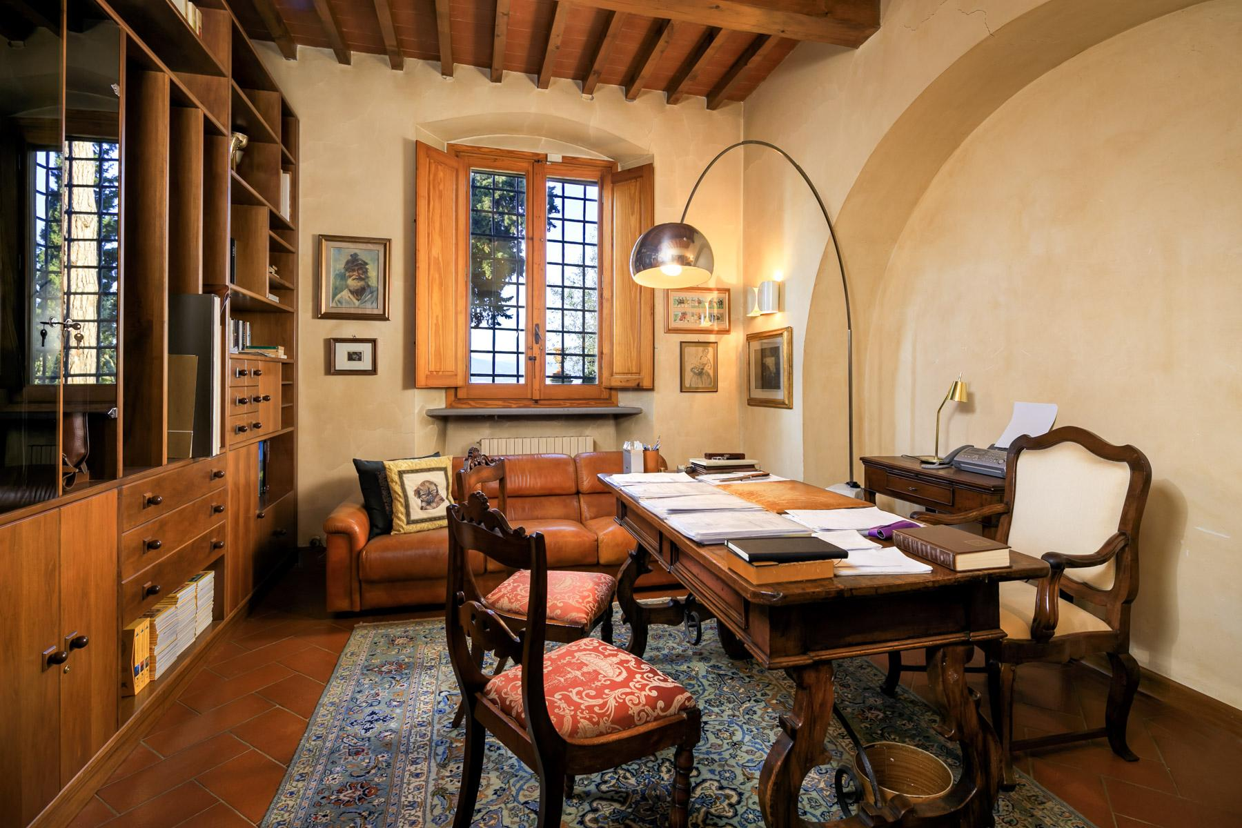 Historic Renaissance Villa with Private Hamlet on the Hills of Florence - 19
