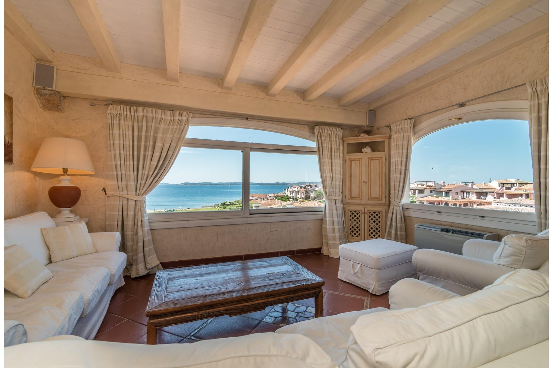 Porto Cervo Cala del Faro Beautiful sea view penthouse - 2
