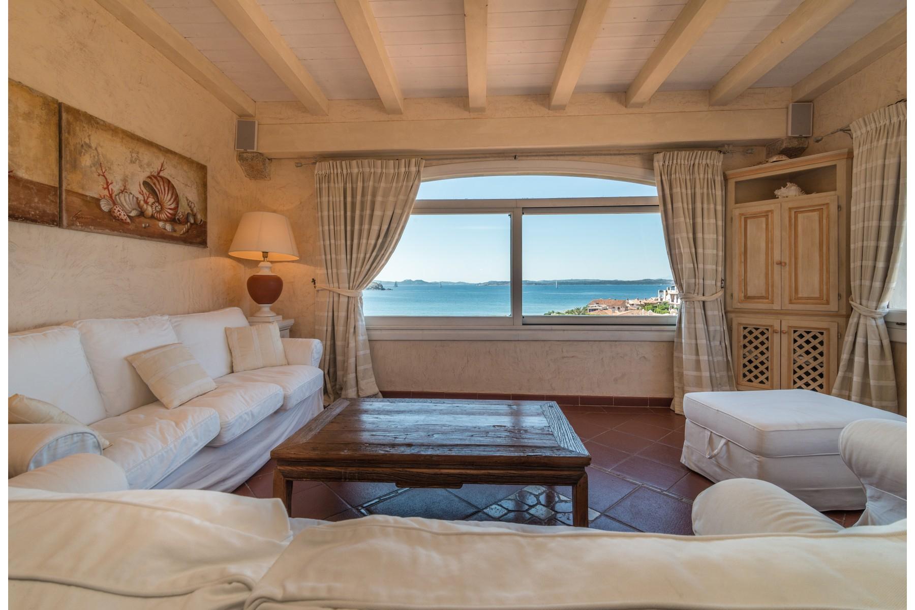 Porto Cervo Cala del Faro Beautiful sea view penthouse - 4