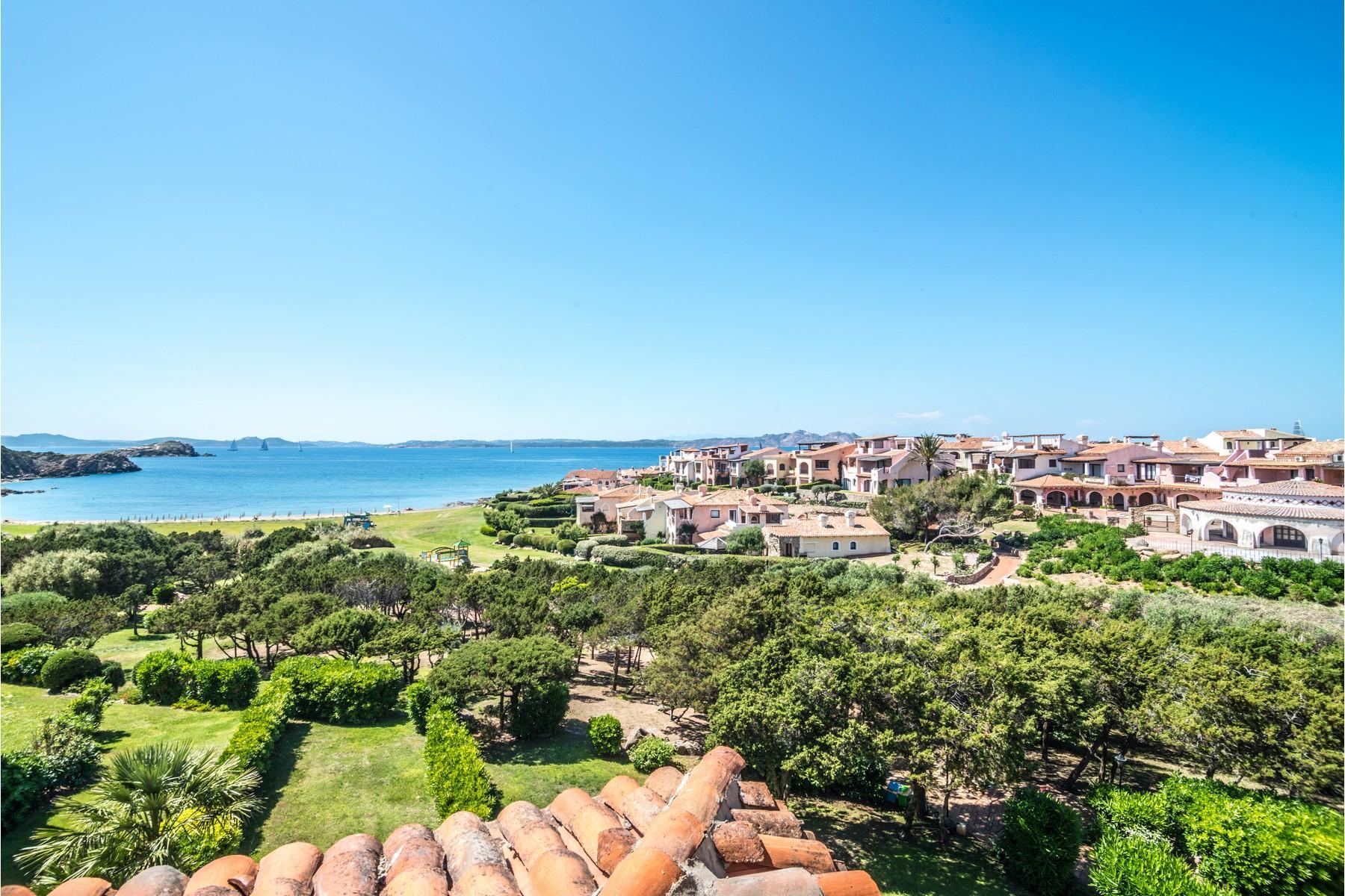 Porto Cervo Cala del Faro Beautiful sea view penthouse - 5