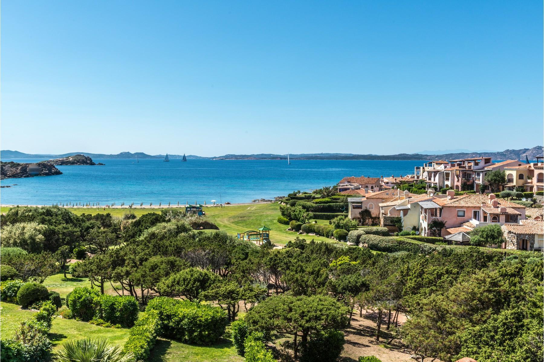 Porto Cervo Cala del Faro Beautiful sea view penthouse - 7