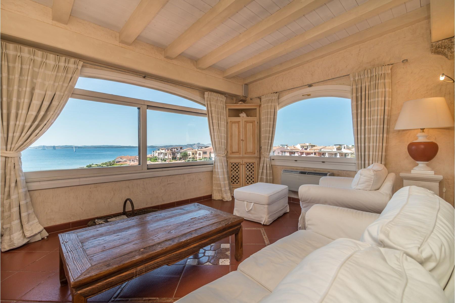 Porto Cervo Cala del Faro Beautiful sea view penthouse - 8