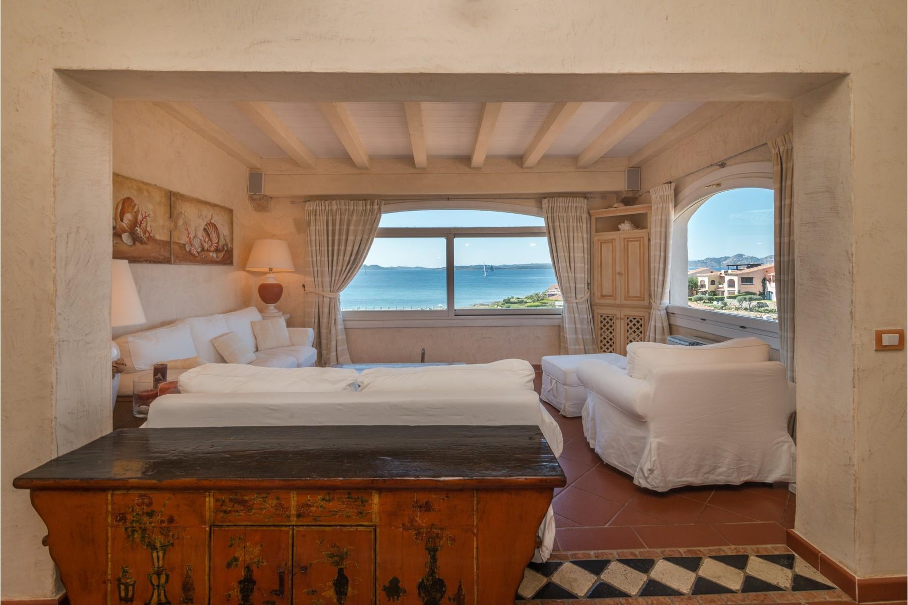 Porto Cervo Cala del Faro Beautiful sea view penthouse - 3