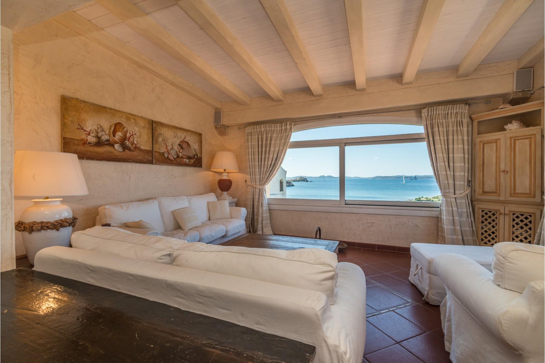 Porto Cervo Cala del Faro Beautiful sea view penthouse - 9