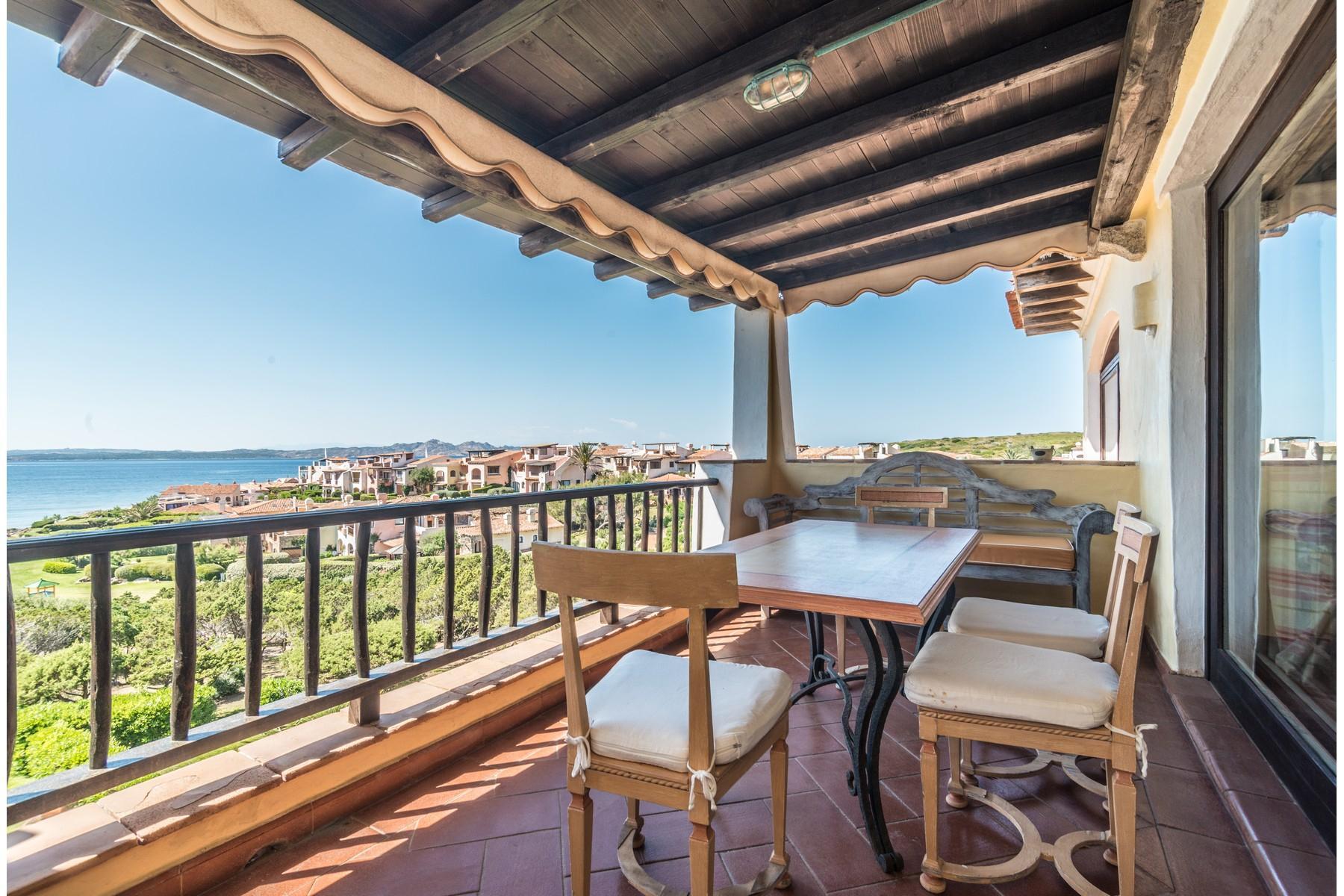 Porto Cervo Cala del Faro Beautiful sea view penthouse - 22