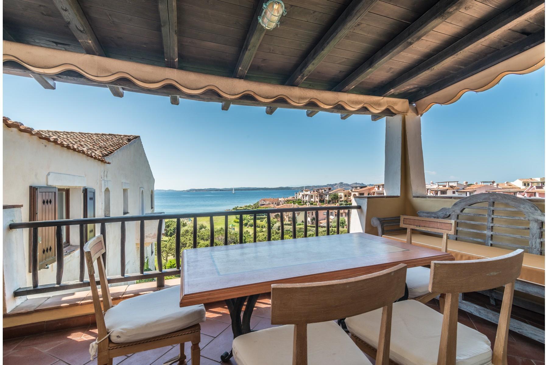 Porto Cervo Cala del Faro Beautiful sea view penthouse - 23