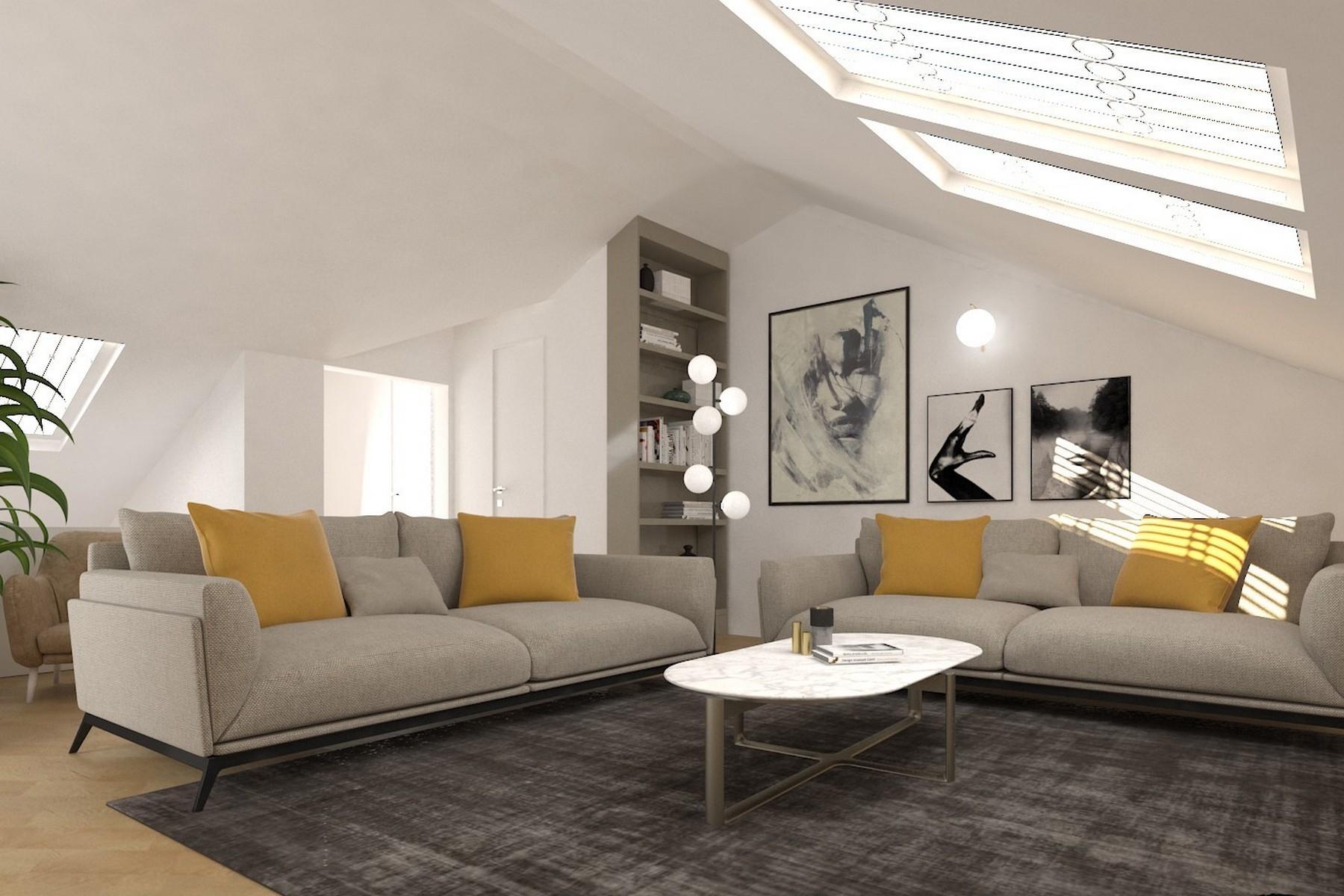Charmante Penthouse auf zwei Ebenen im Brera Stadtviertel - 23