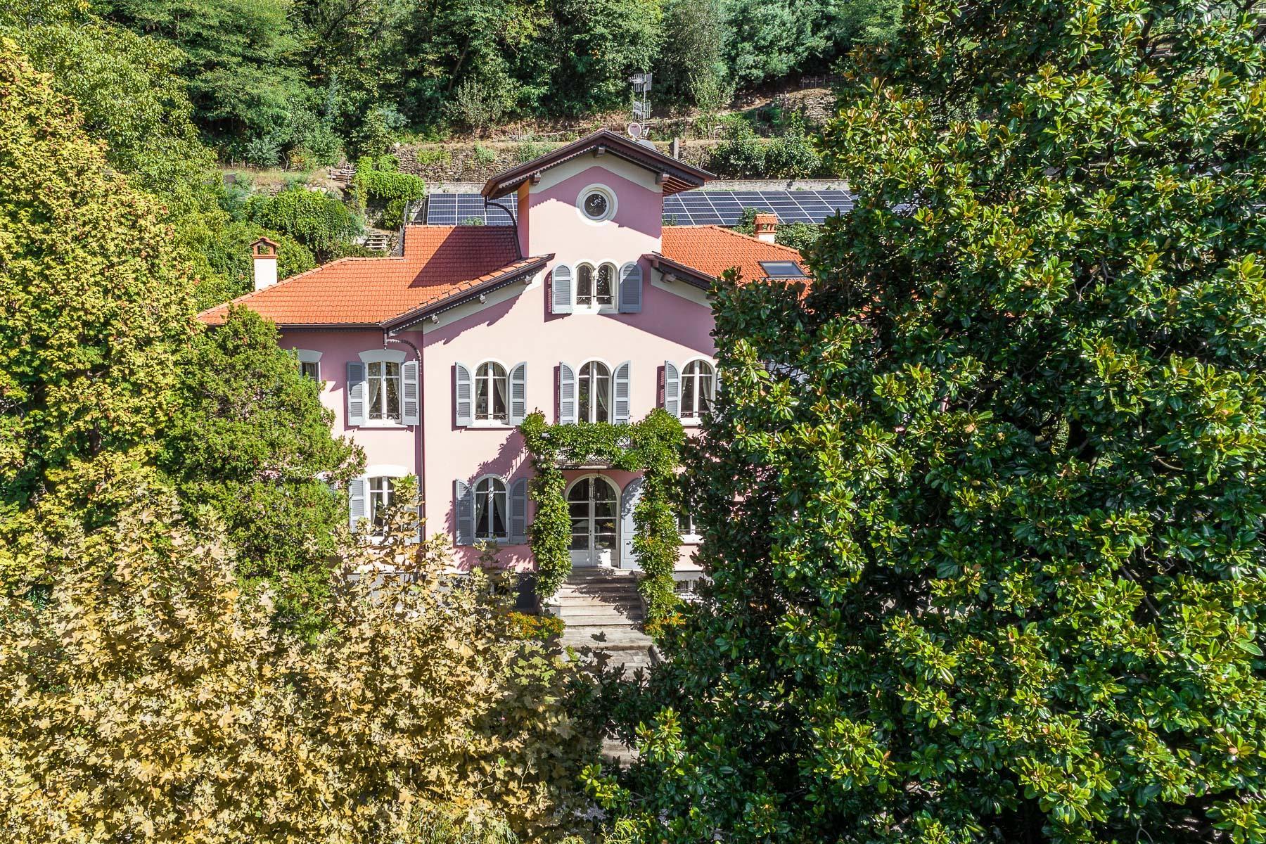 Ancient villa overlooking the lake Maggiore - 21
