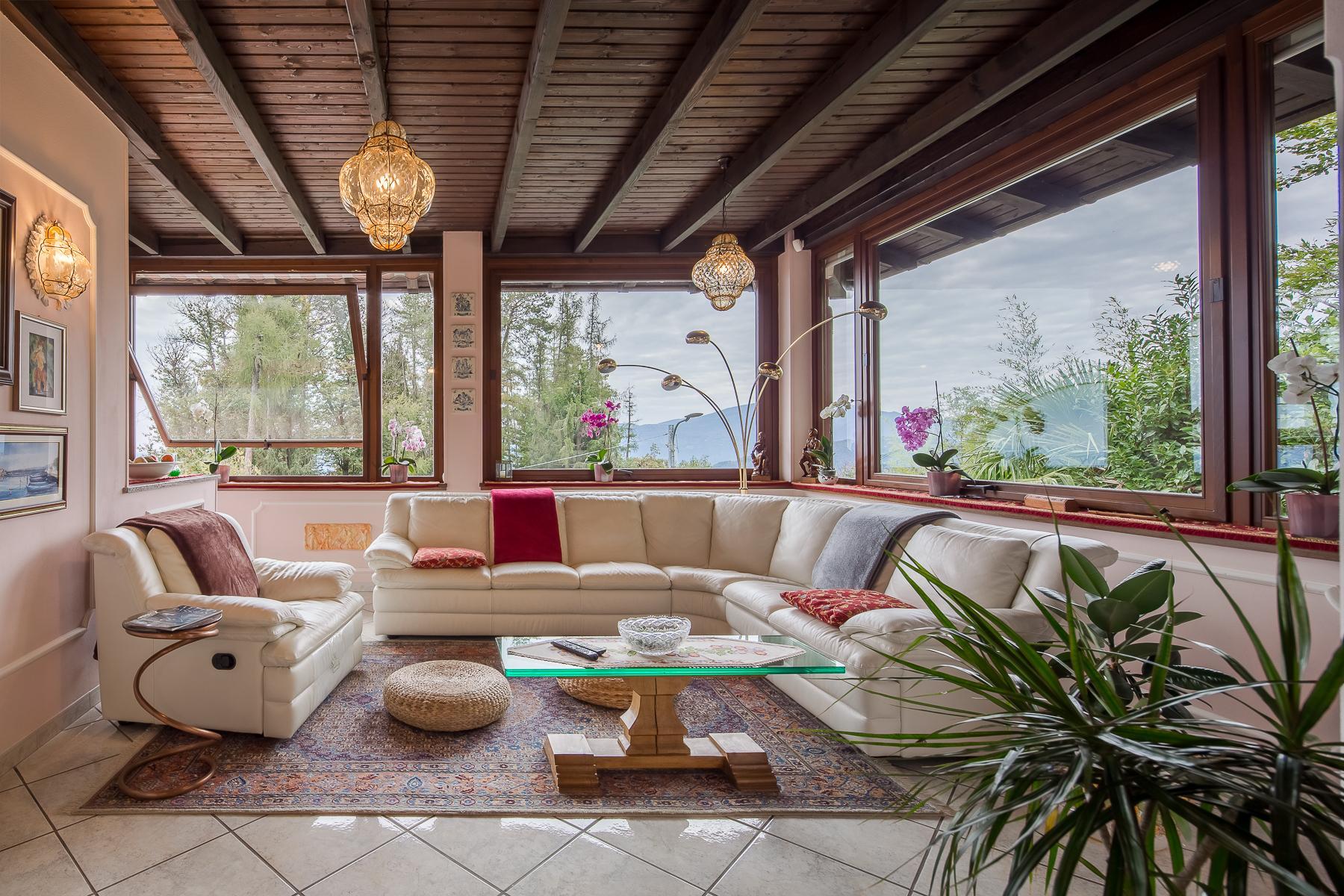 Villa unifamiliare nella zona collinare di Verbania con vista magnifica sul lago - 19