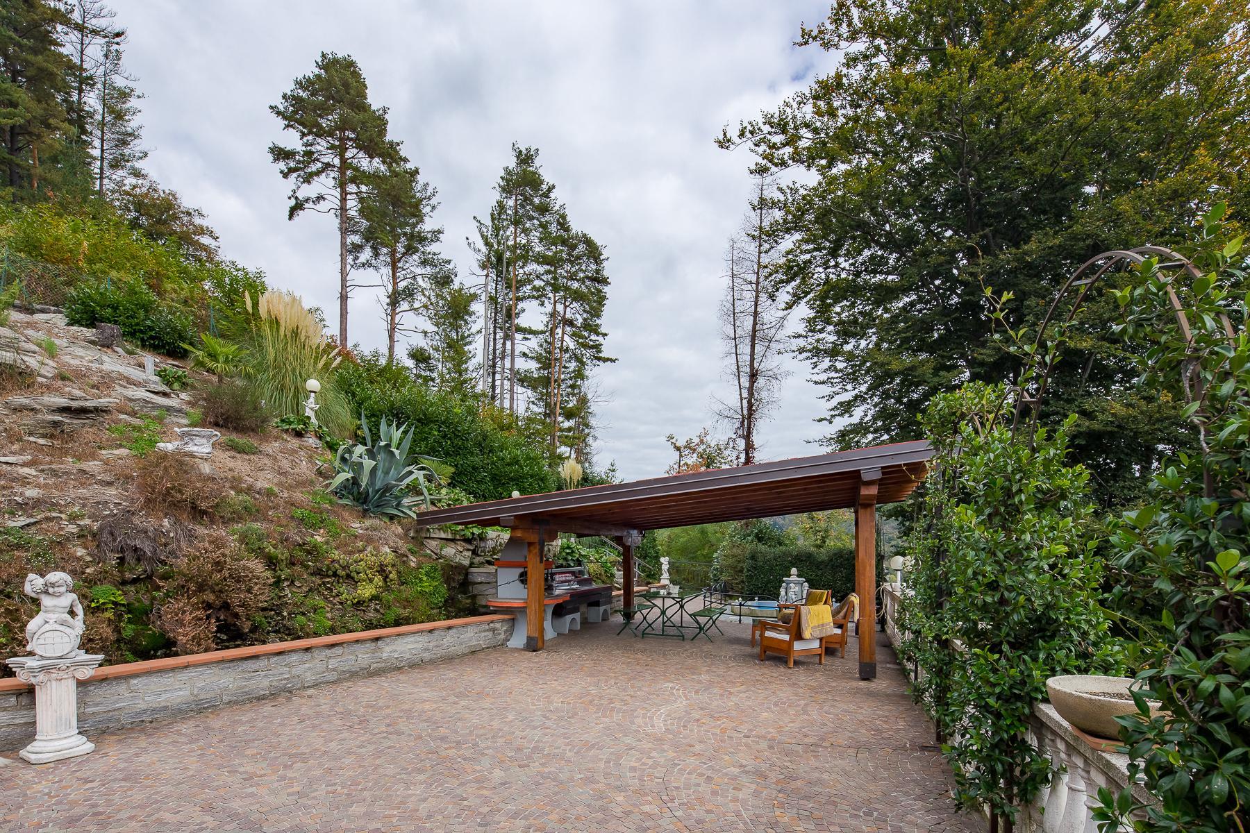 Villa unifamiliare nella zona collinare di Verbania con vista magnifica sul lago - 9