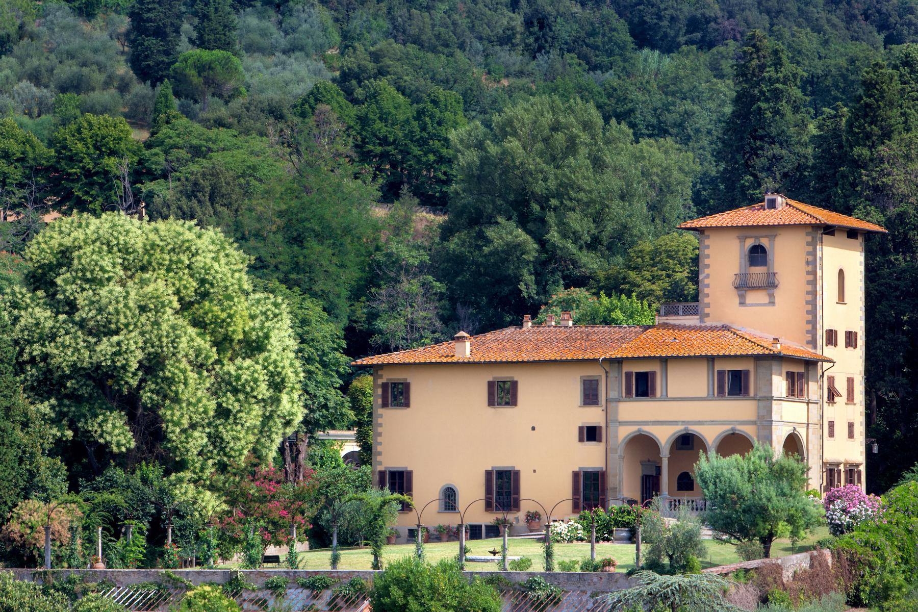 An important villa with pool on the hills of Florence - 15