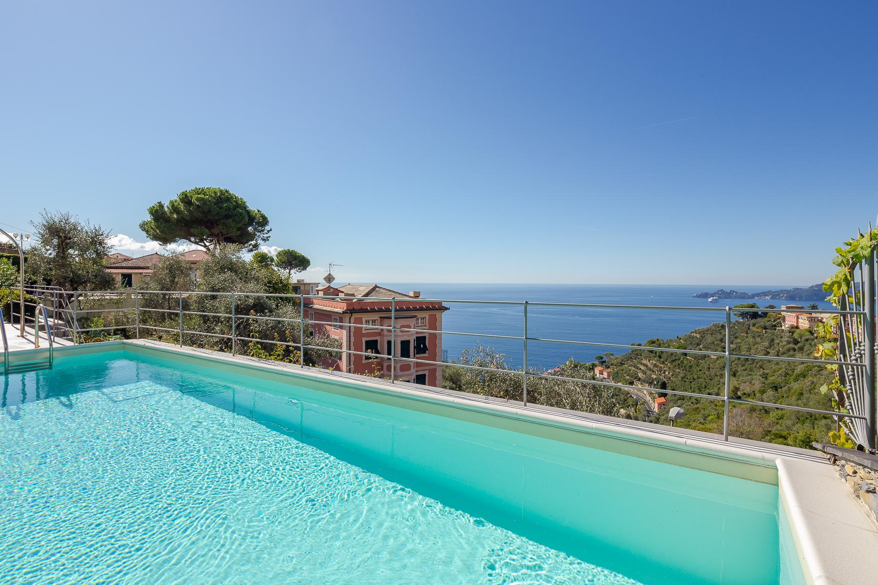 Elegant period Villa with view of the Tigullio Gulf - 8