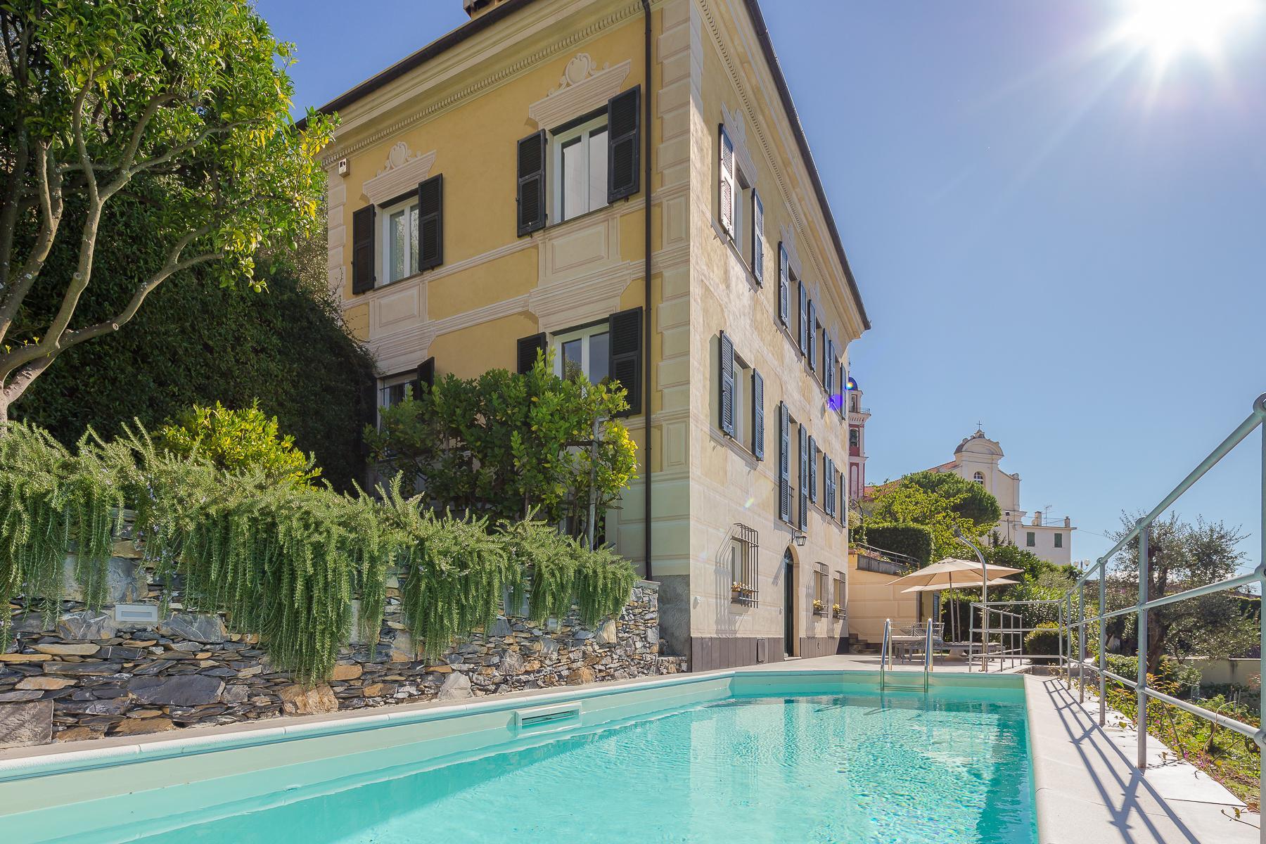 Elegant period Villa with view of the Tigullio Gulf - 12