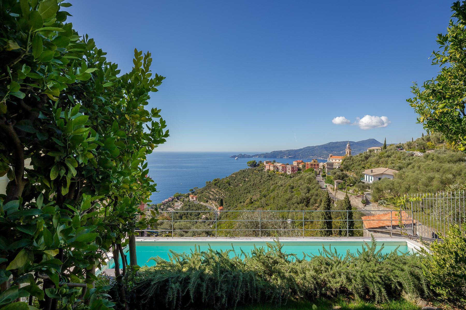 Elegant period Villa with view of the Tigullio Gulf - 13
