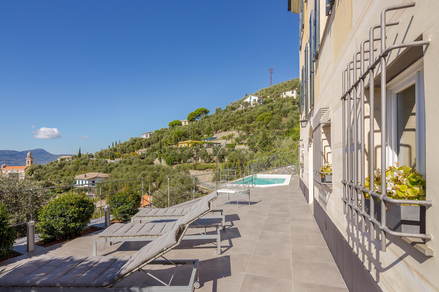 Elegant period Villa with view of the Tigullio Gulf - 16