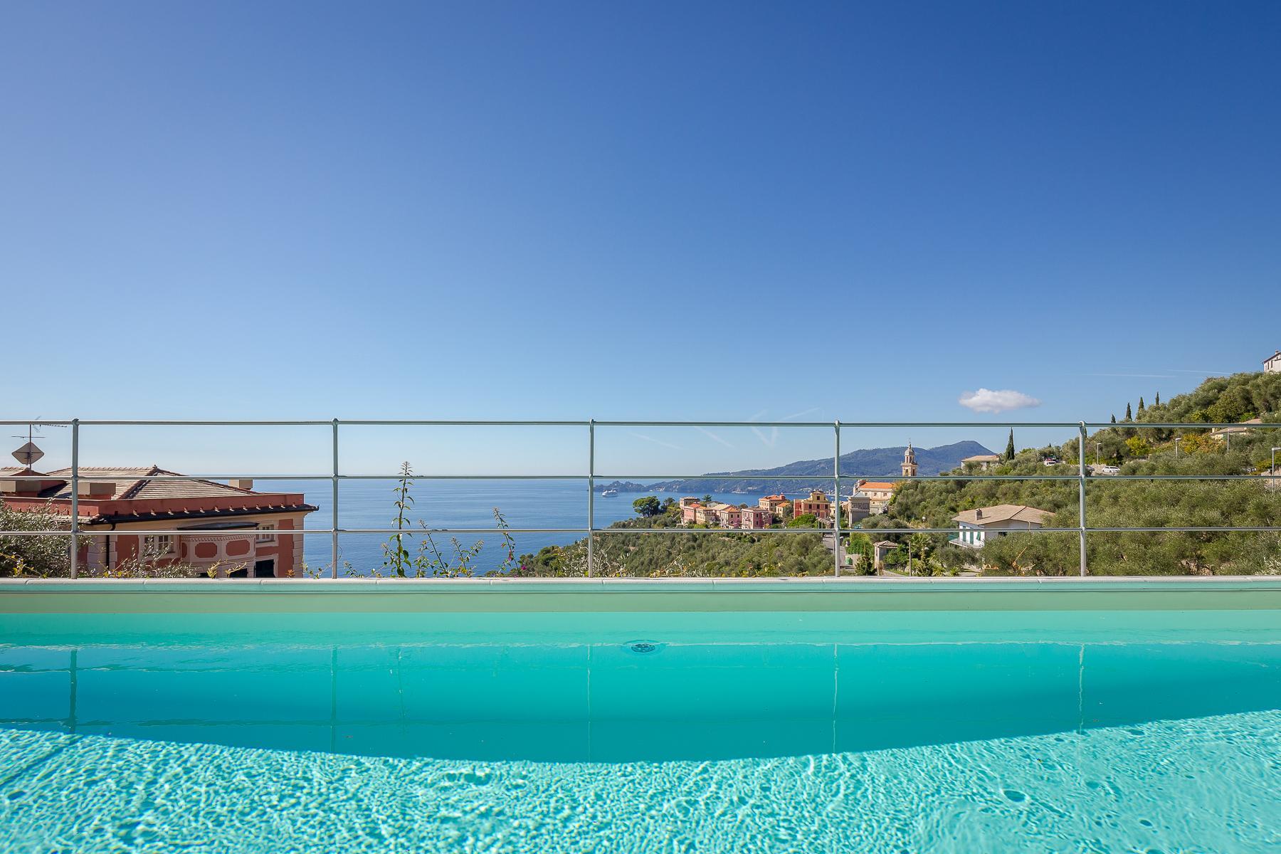 Elegant period Villa with view of the Tigullio Gulf - 14