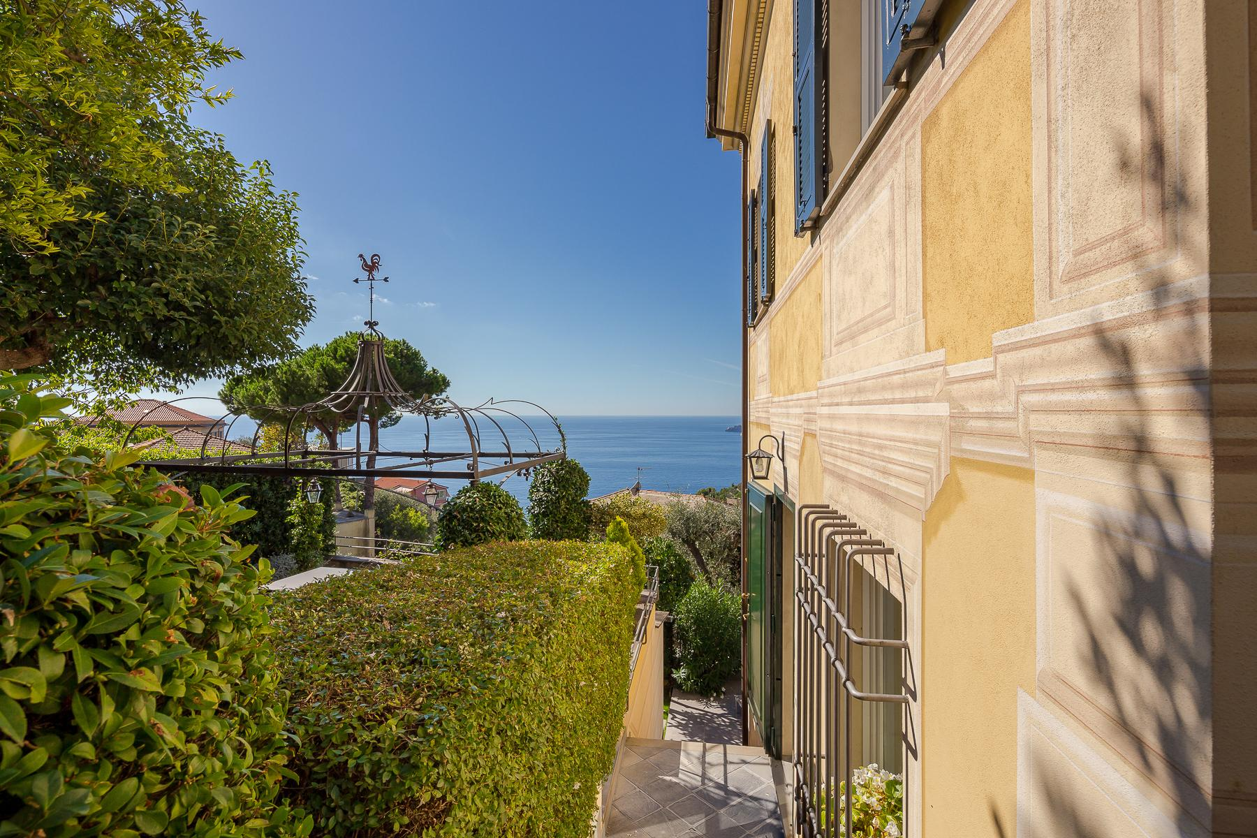 Elegant period Villa with view of the Tigullio Gulf - 3