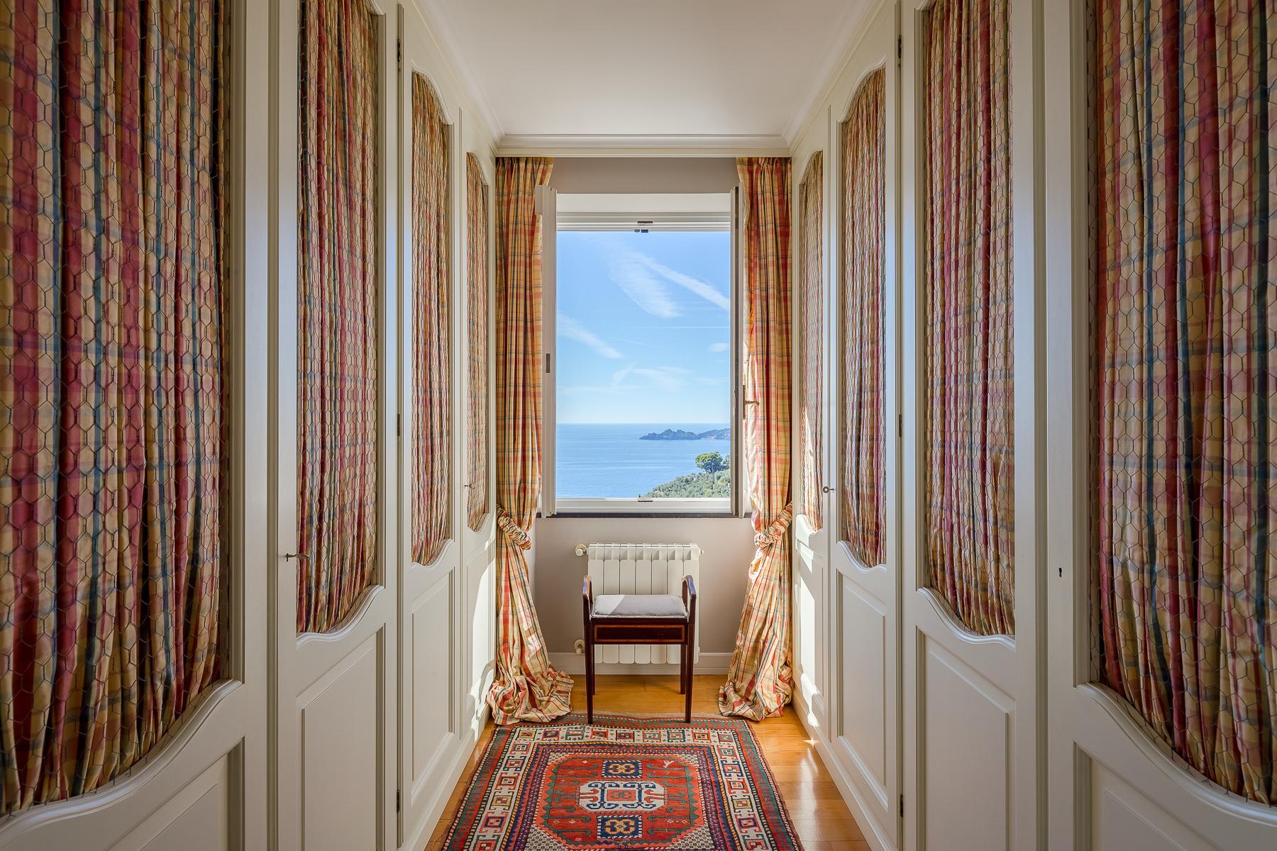 Elegant period Villa with view of the Tigullio Gulf - 21