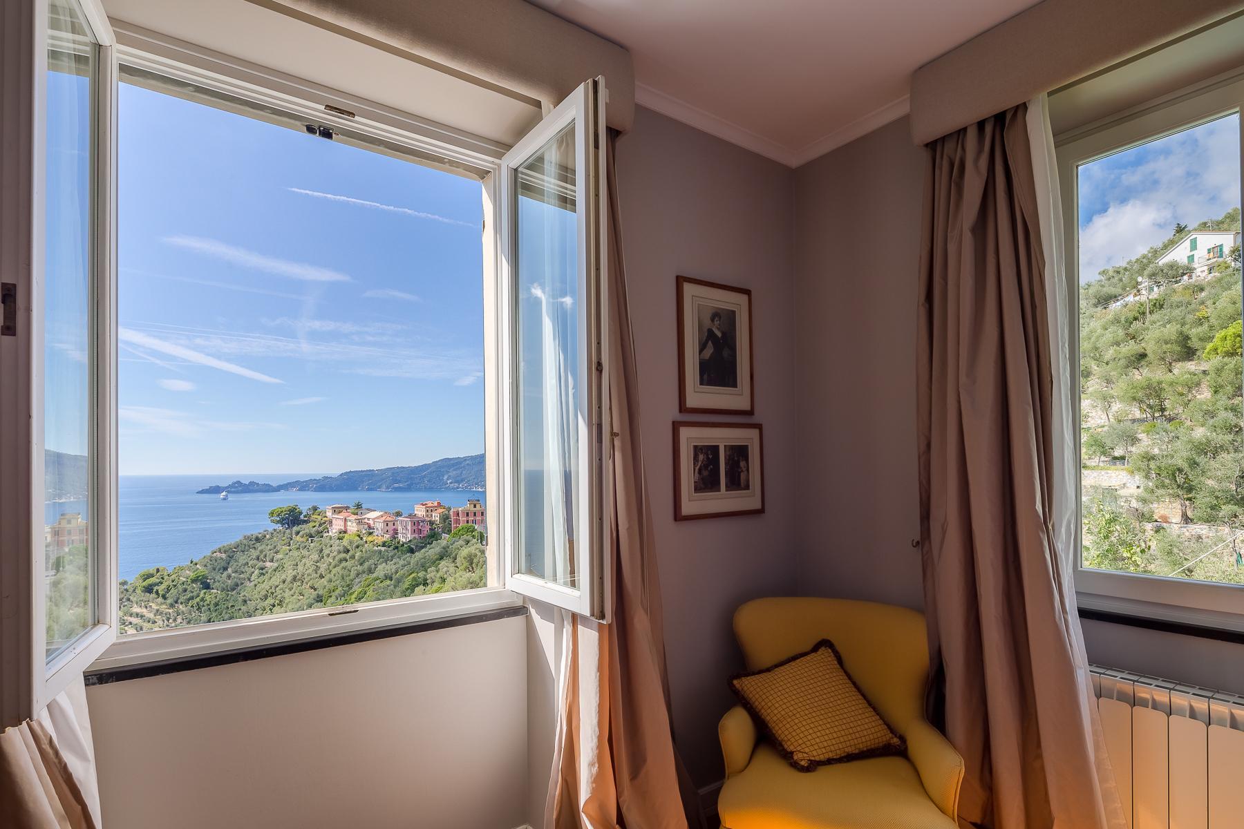 Elegant period Villa with view of the Tigullio Gulf - 25