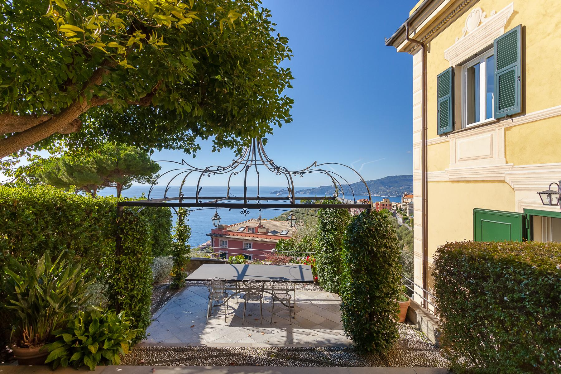 Elegant period Villa with view of the Tigullio Gulf - 4