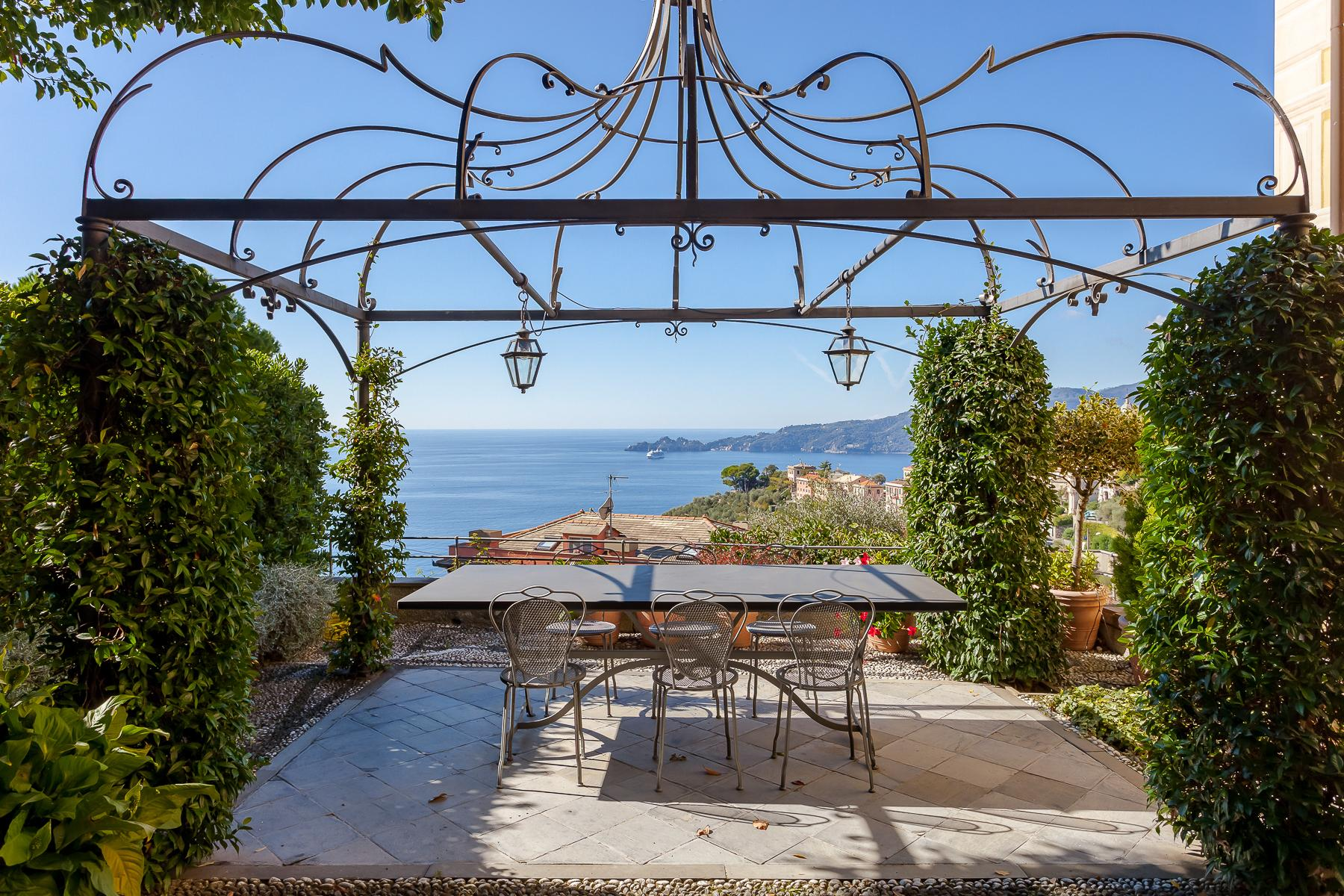 Elegant period Villa with view of the Tigullio Gulf - 1