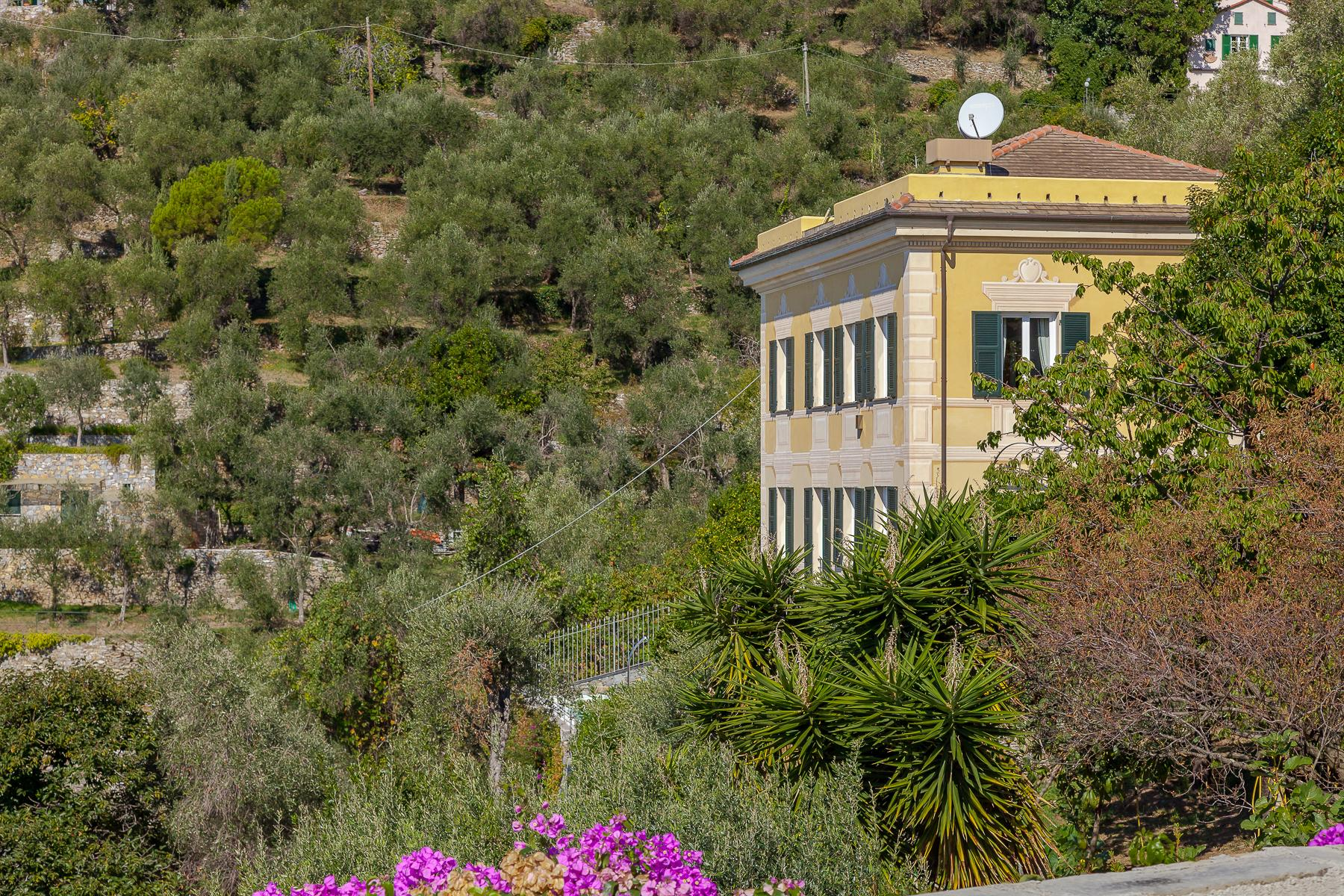 Elegant period Villa with view of the Tigullio Gulf - 2