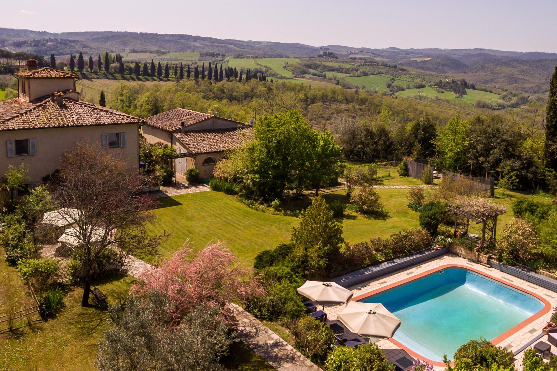 Remarkable Country house B&B with pool near San Gimignano - 2