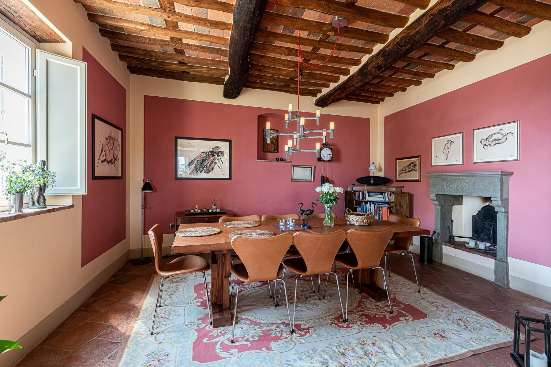 Magical farmhouse with stunning views on the hills of Lucca - 5