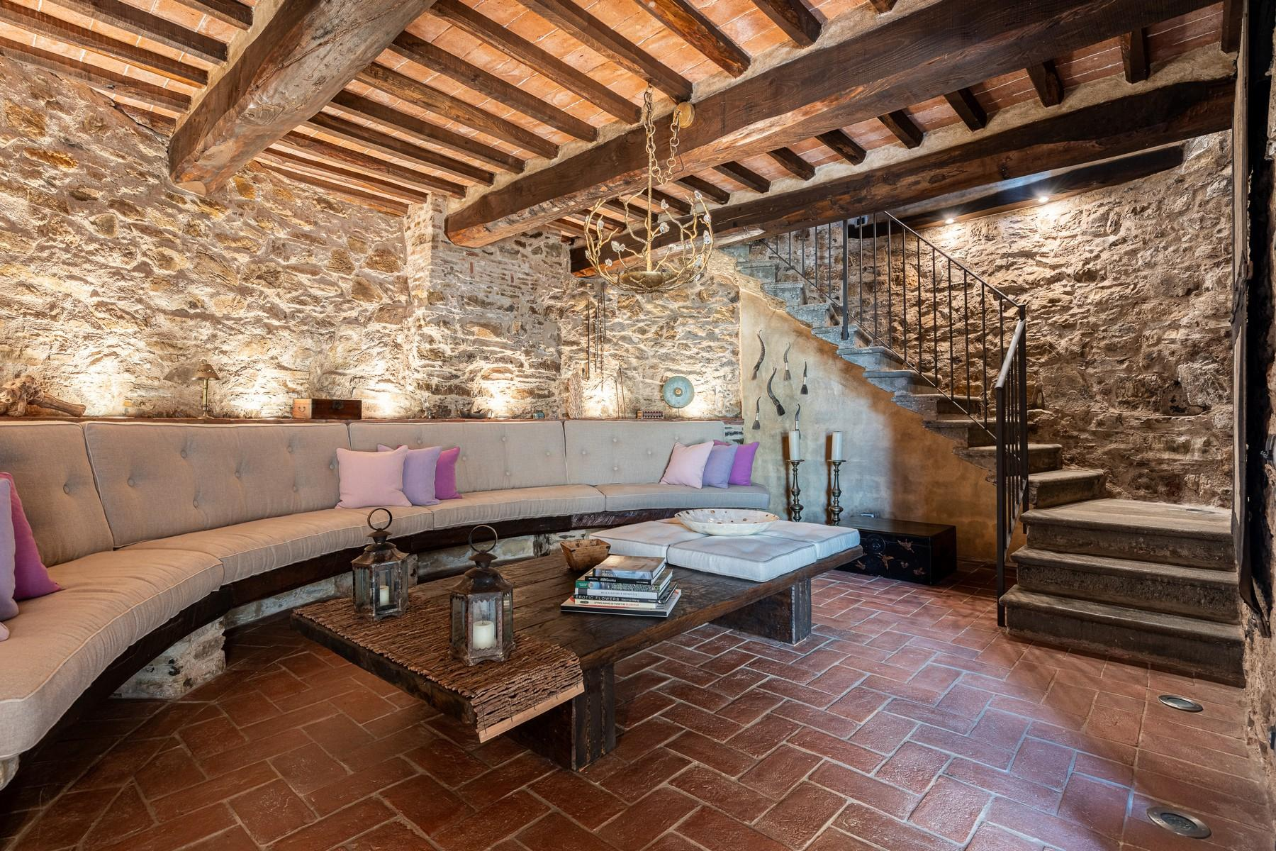 Magical farmhouse with stunning views on the hills of Lucca - 19