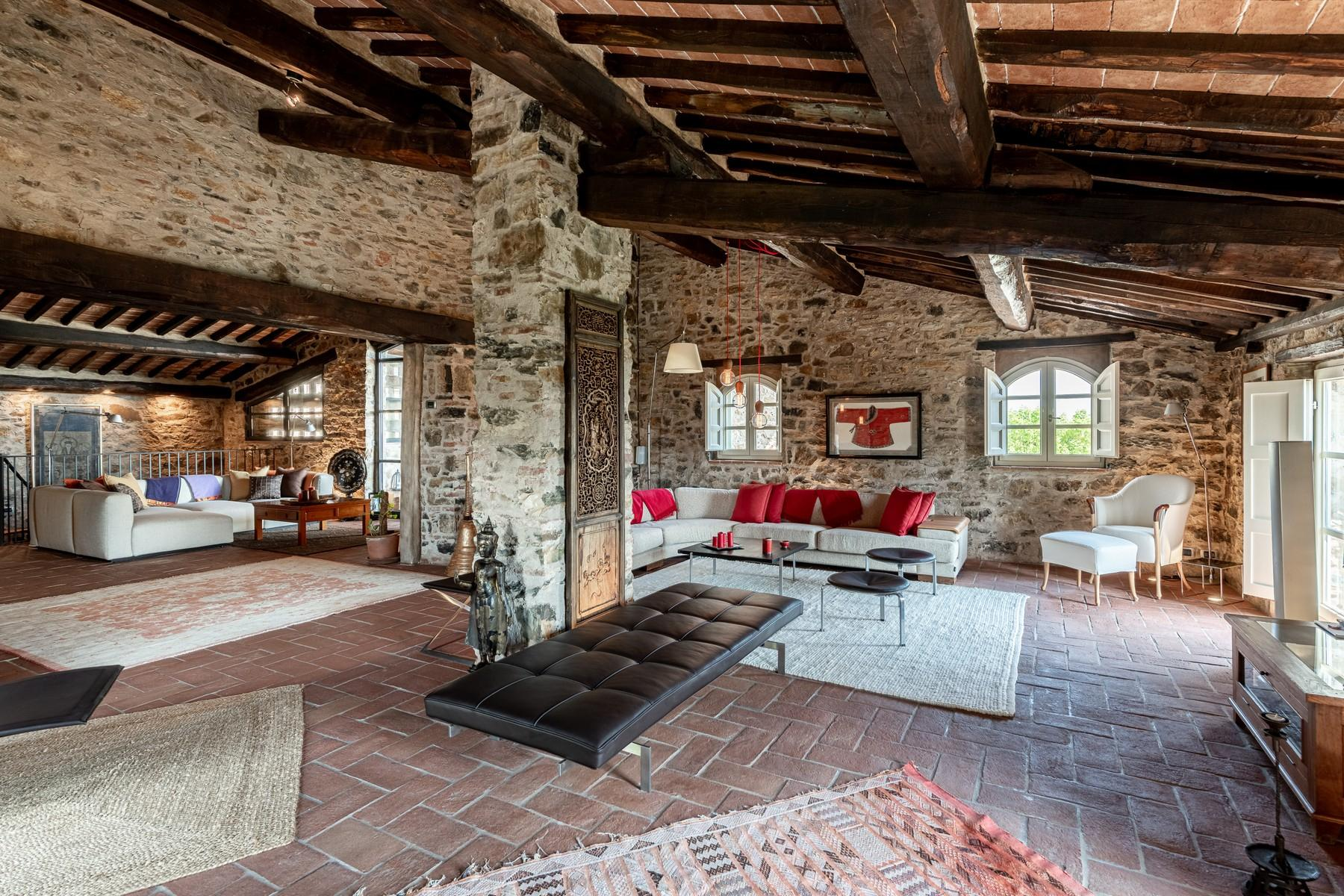 Magical farmhouse with stunning views on the hills of Lucca - 7