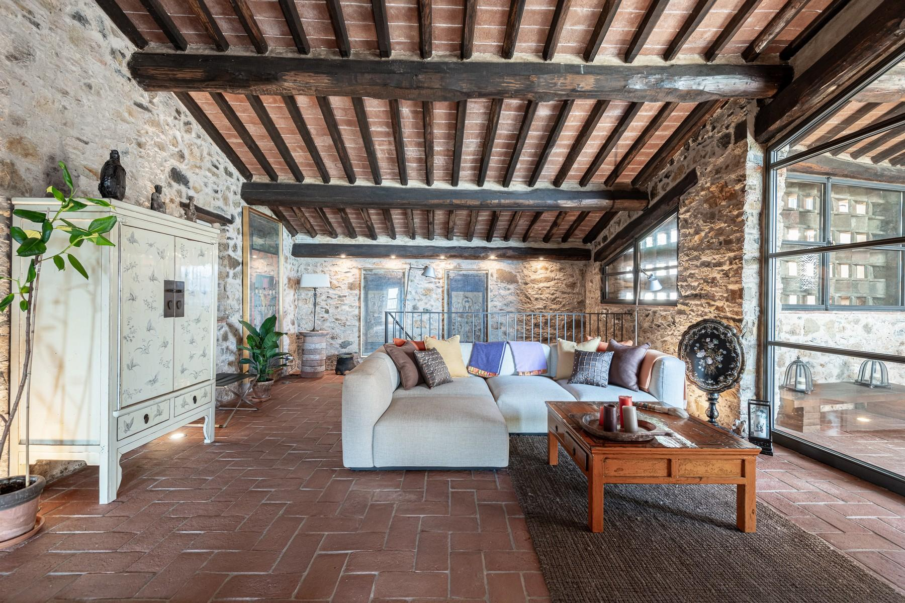 Magical farmhouse with stunning views on the hills of Lucca - 20